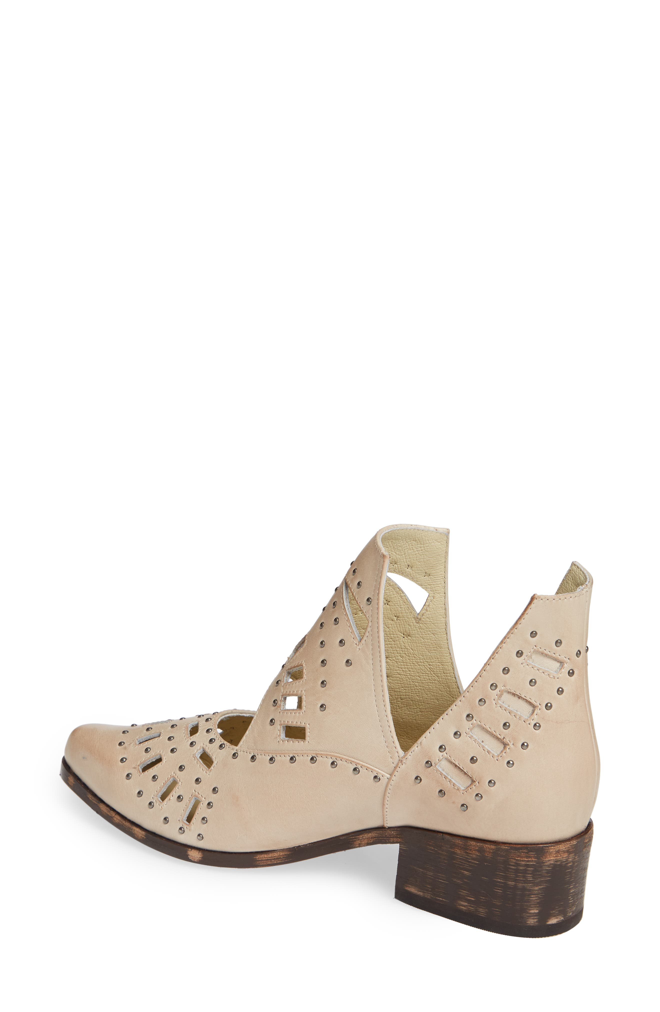 Devlyn Bootie,                             Alternate thumbnail 2, color,                             WHITE LEATHER