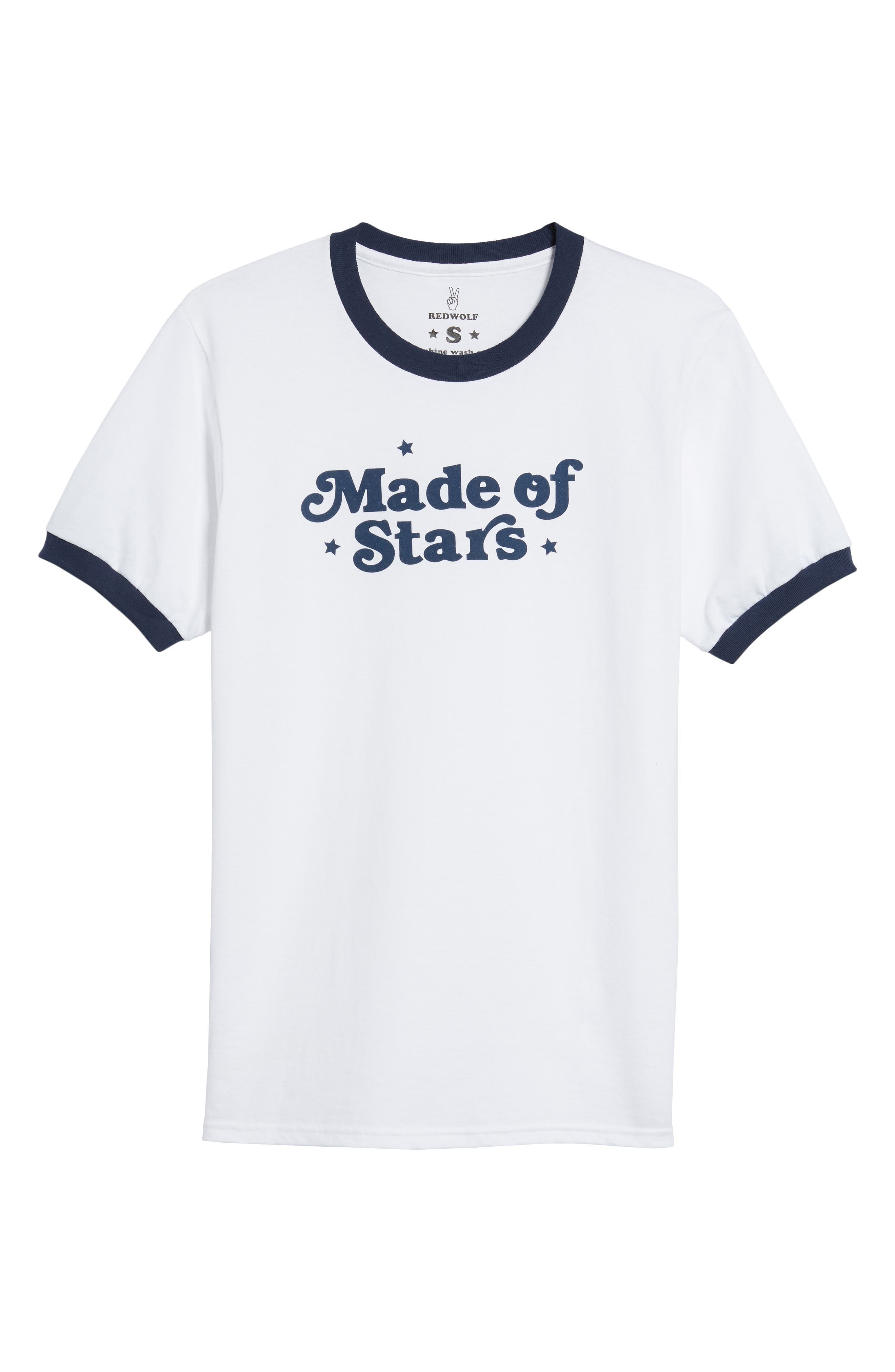 Made of Stars Tee,                             Alternate thumbnail 7, color,