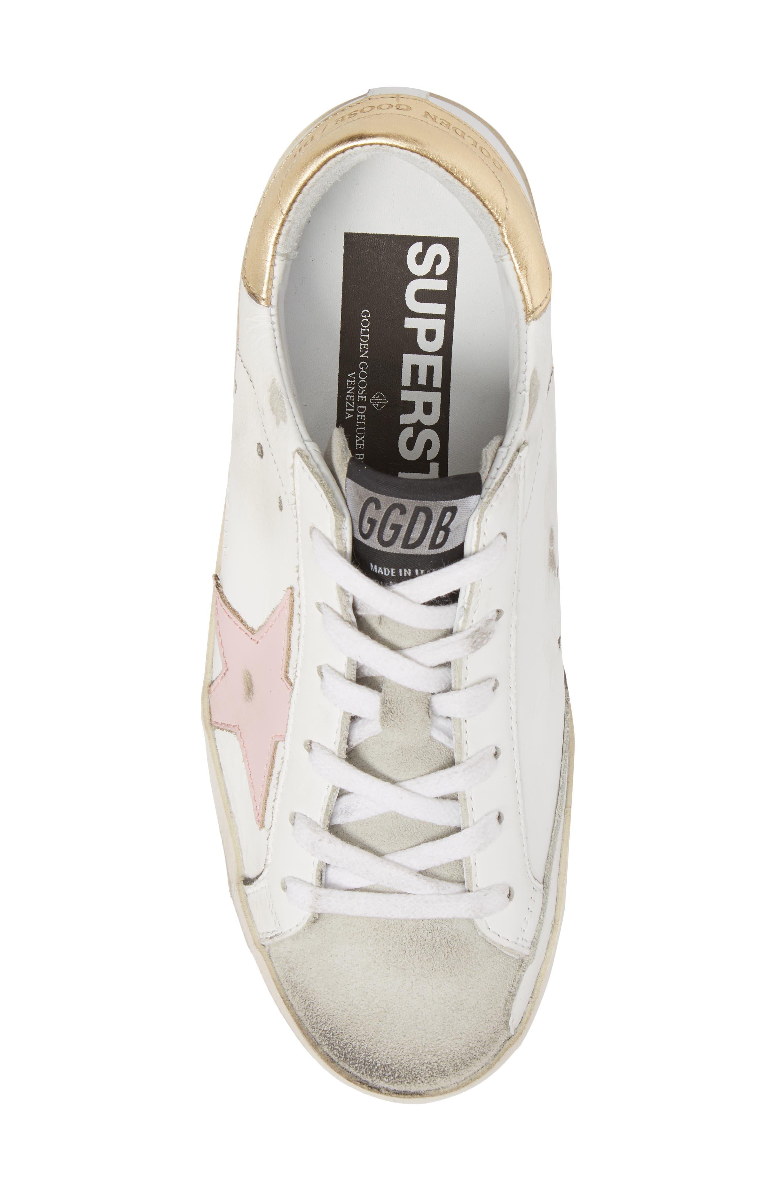 Superstar Low Top Sneaker,                             Alternate thumbnail 5, color,