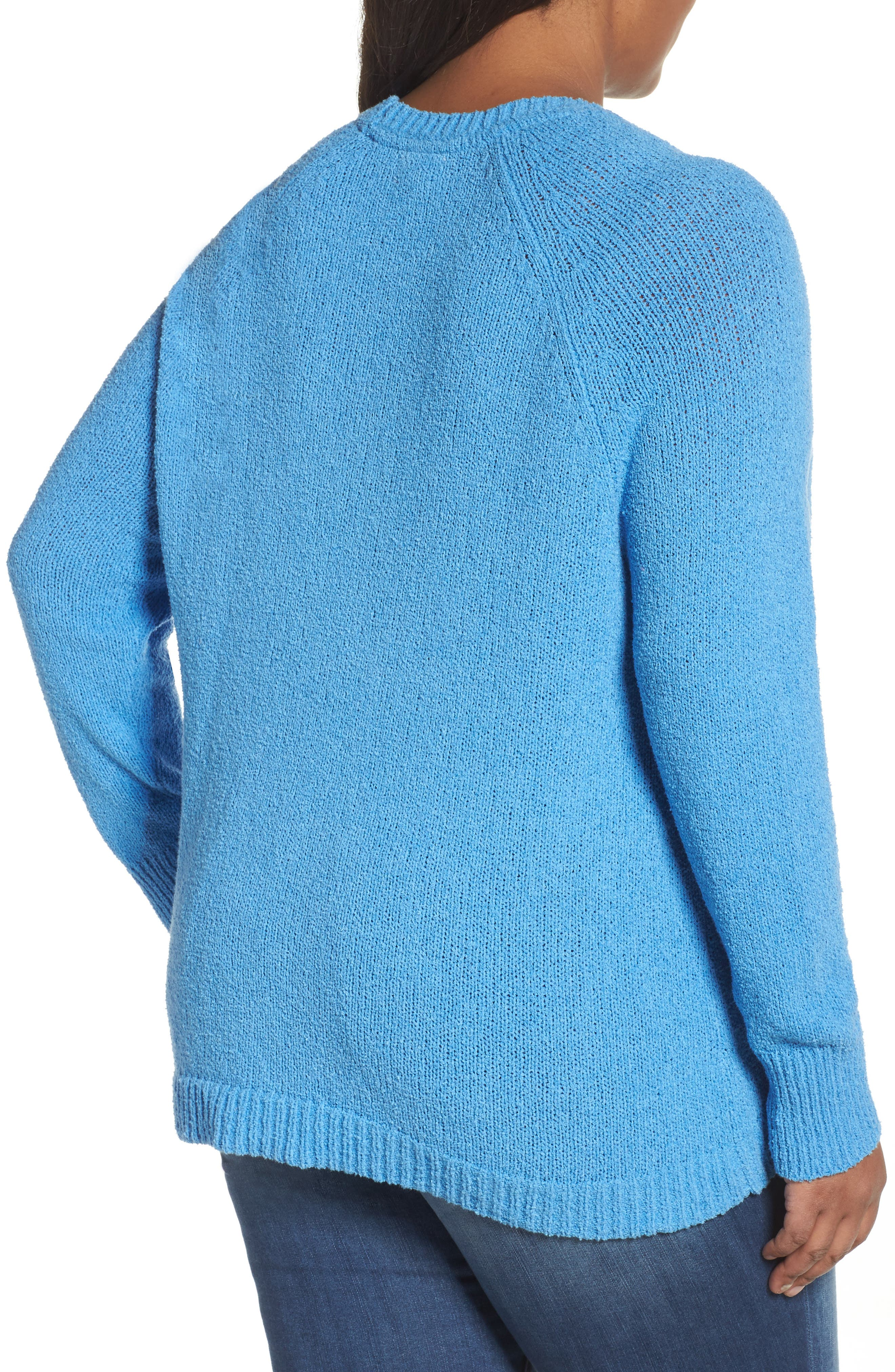 Relaxed Crewneck Sweater,                             Alternate thumbnail 7, color,