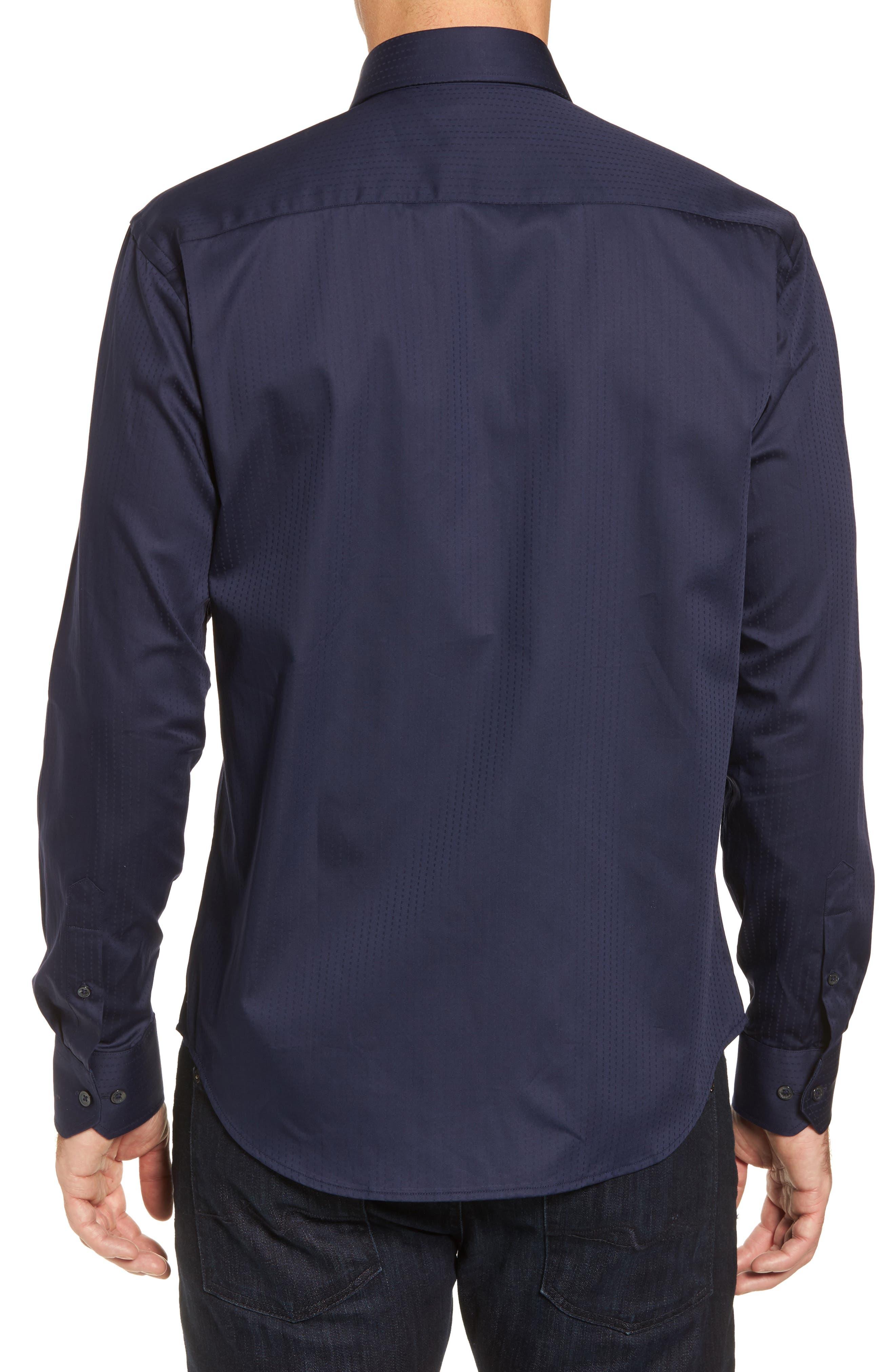 Classic Fit Print Sport Shirt,                             Alternate thumbnail 2, color,                             410