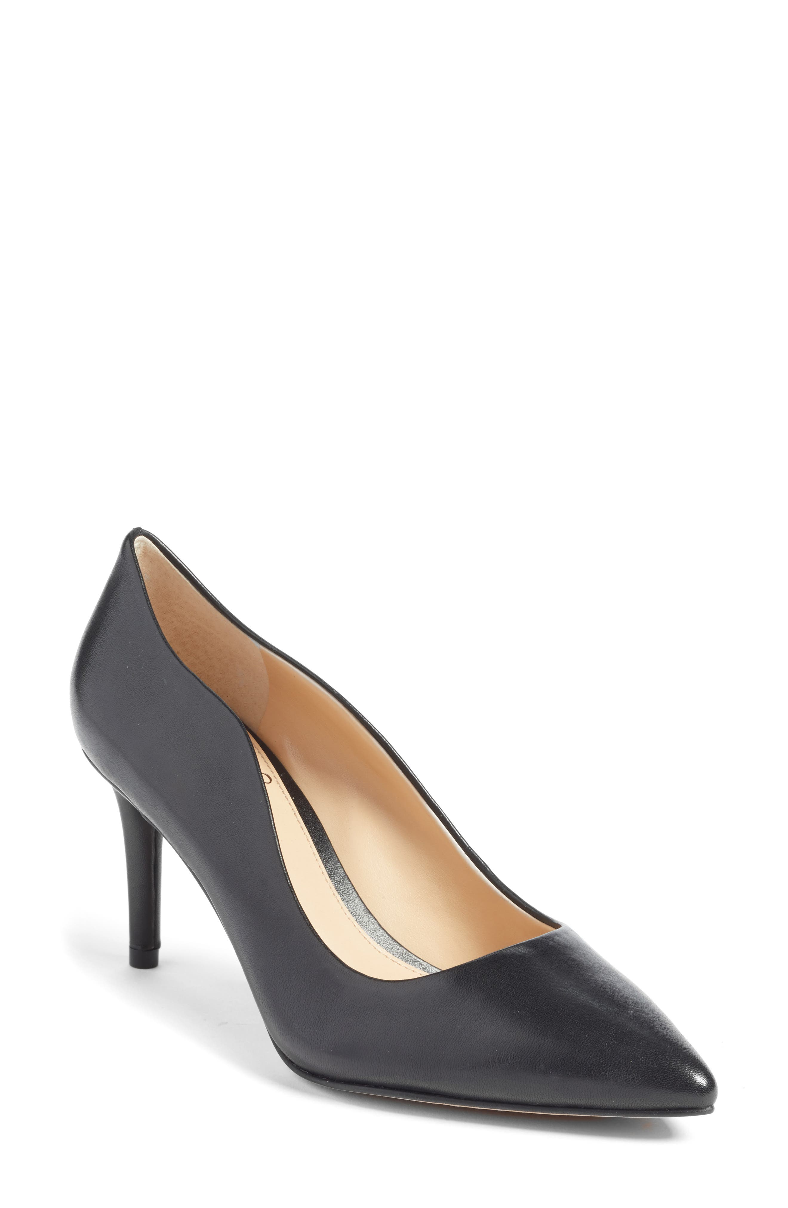 Jaynita Pointy Toe Pump,                         Main,                         color, 001