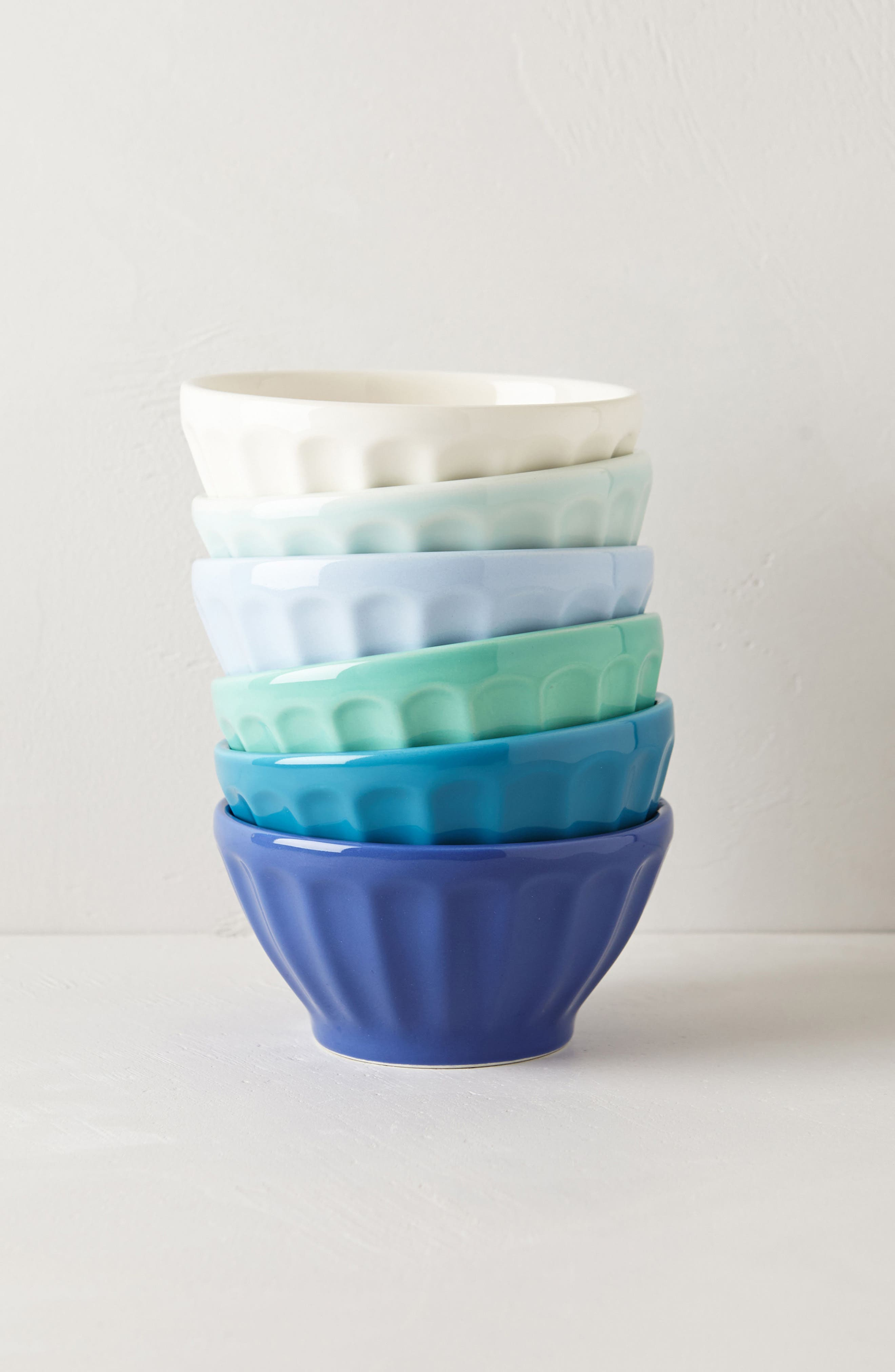 Set of 6 Latte Bowls,                         Main,                         color, 401