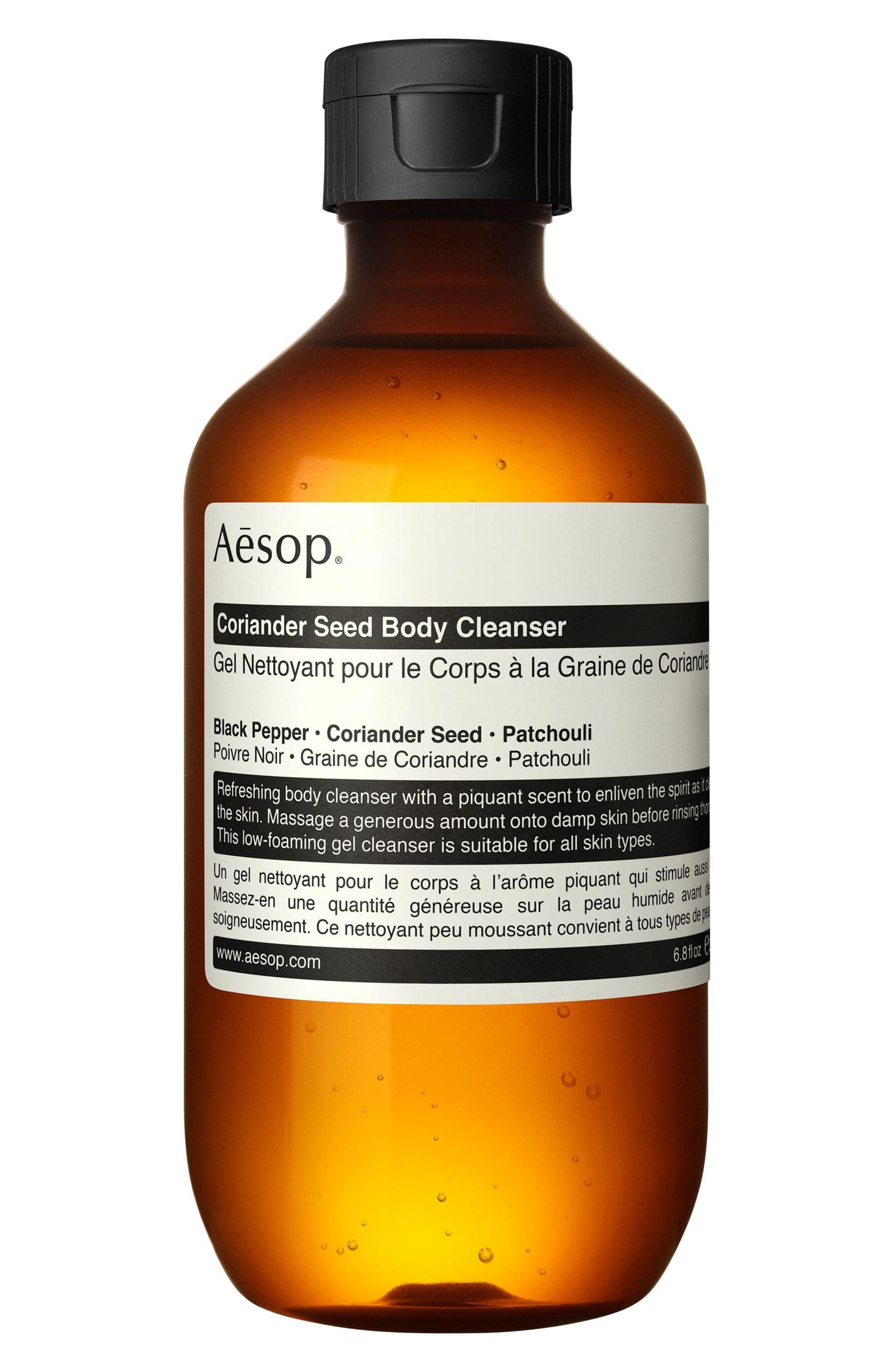 �ล�าร���หารู��า�สำหรั� Aesop Coriander Seed Body Cleanser 200 ml.