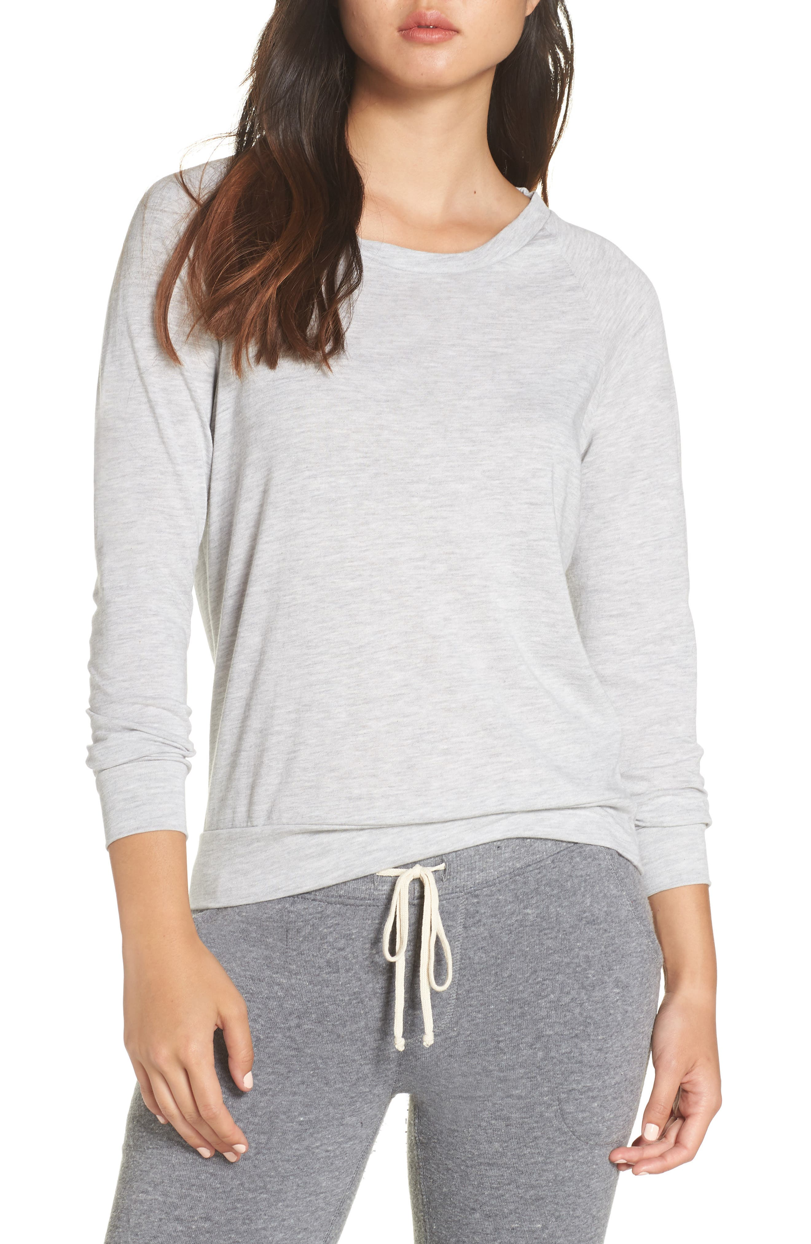 ALTERNATIVE Slouchy Pullover in Eco Oatmeal