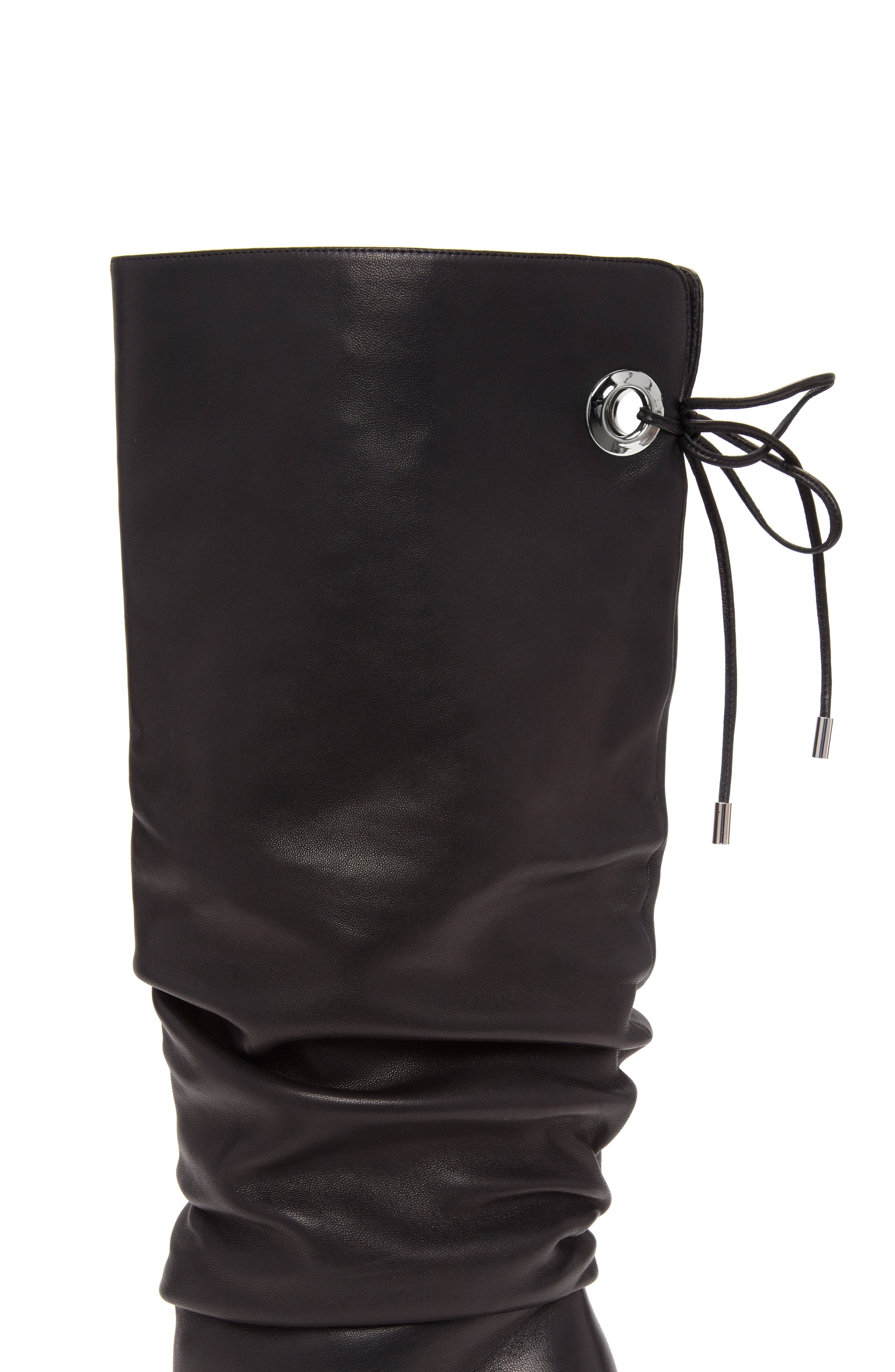 Lexi Boot,                             Alternate thumbnail 4, color,                             BLACK
