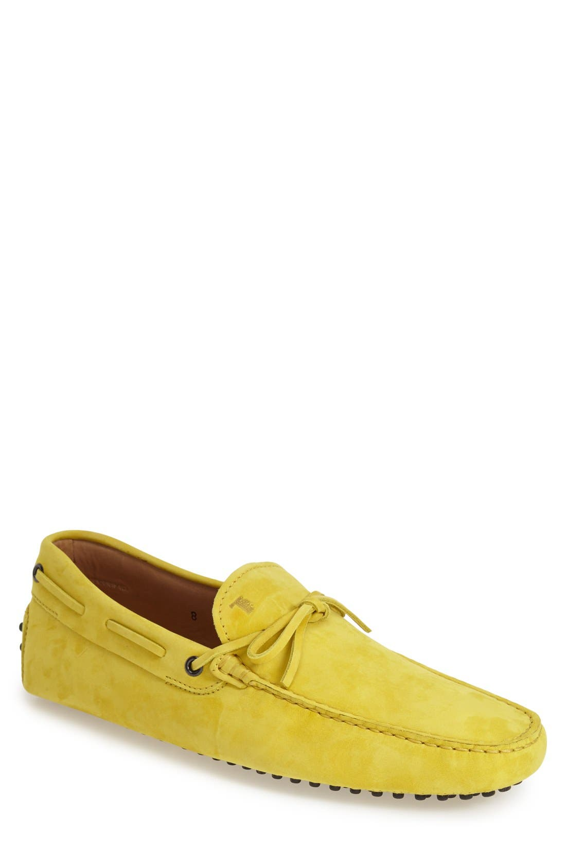 Gommini Tie Front Driving Moccasin,                             Main thumbnail 21, color,