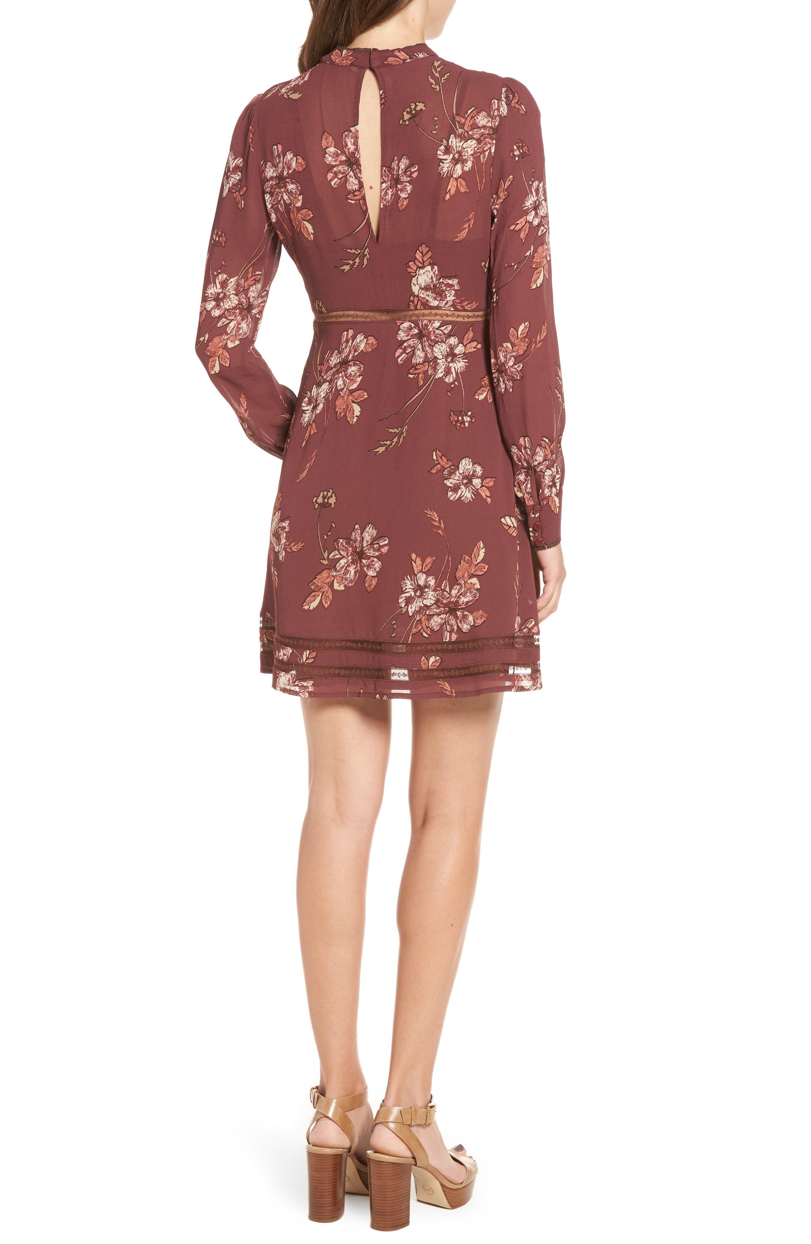 Kirsten A-Line Dress,                             Alternate thumbnail 7, color,