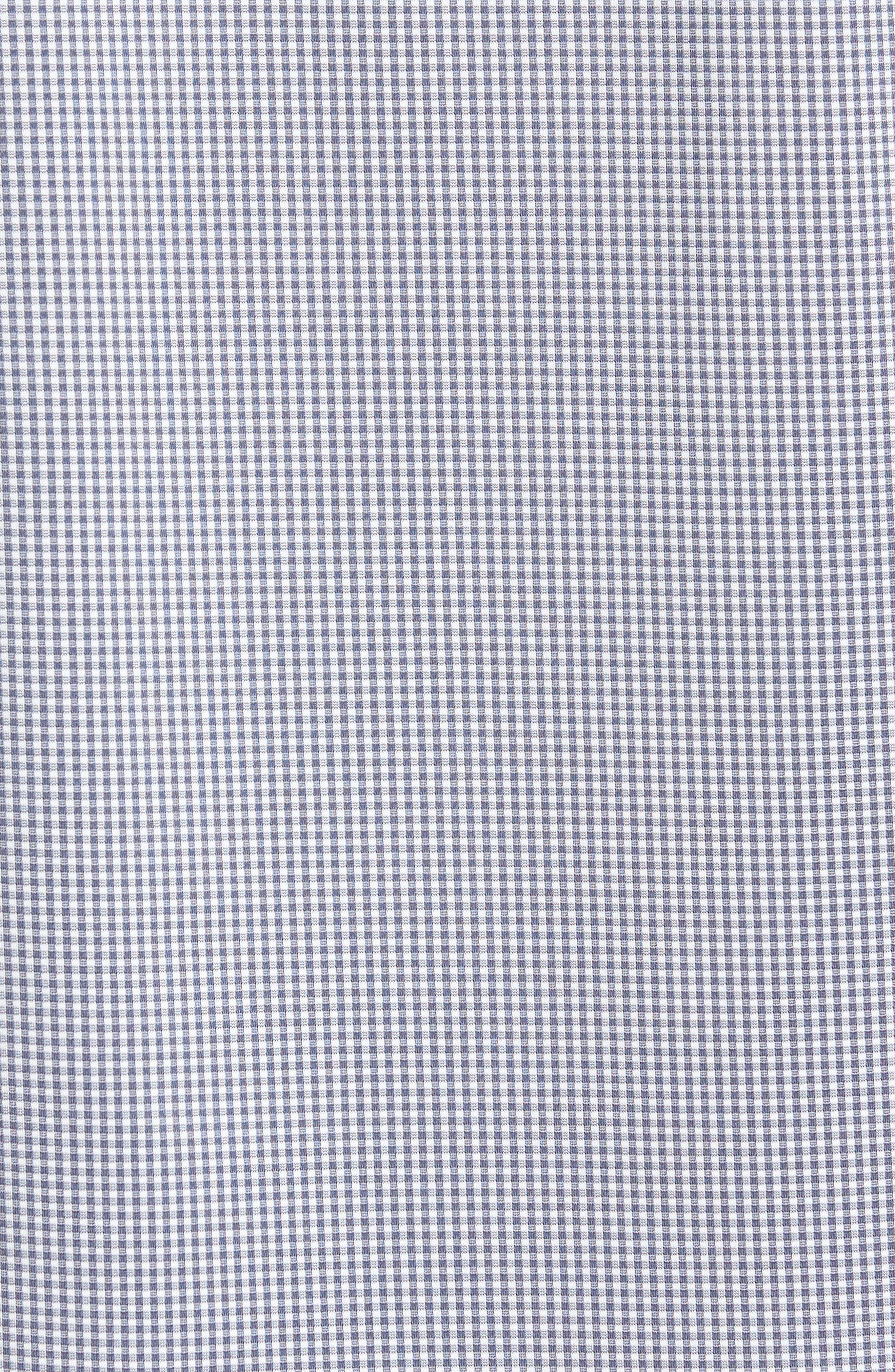 TRAVIS MATHEW,                             Couig Gingham Sport Shirt,                             Alternate thumbnail 5, color,                             105