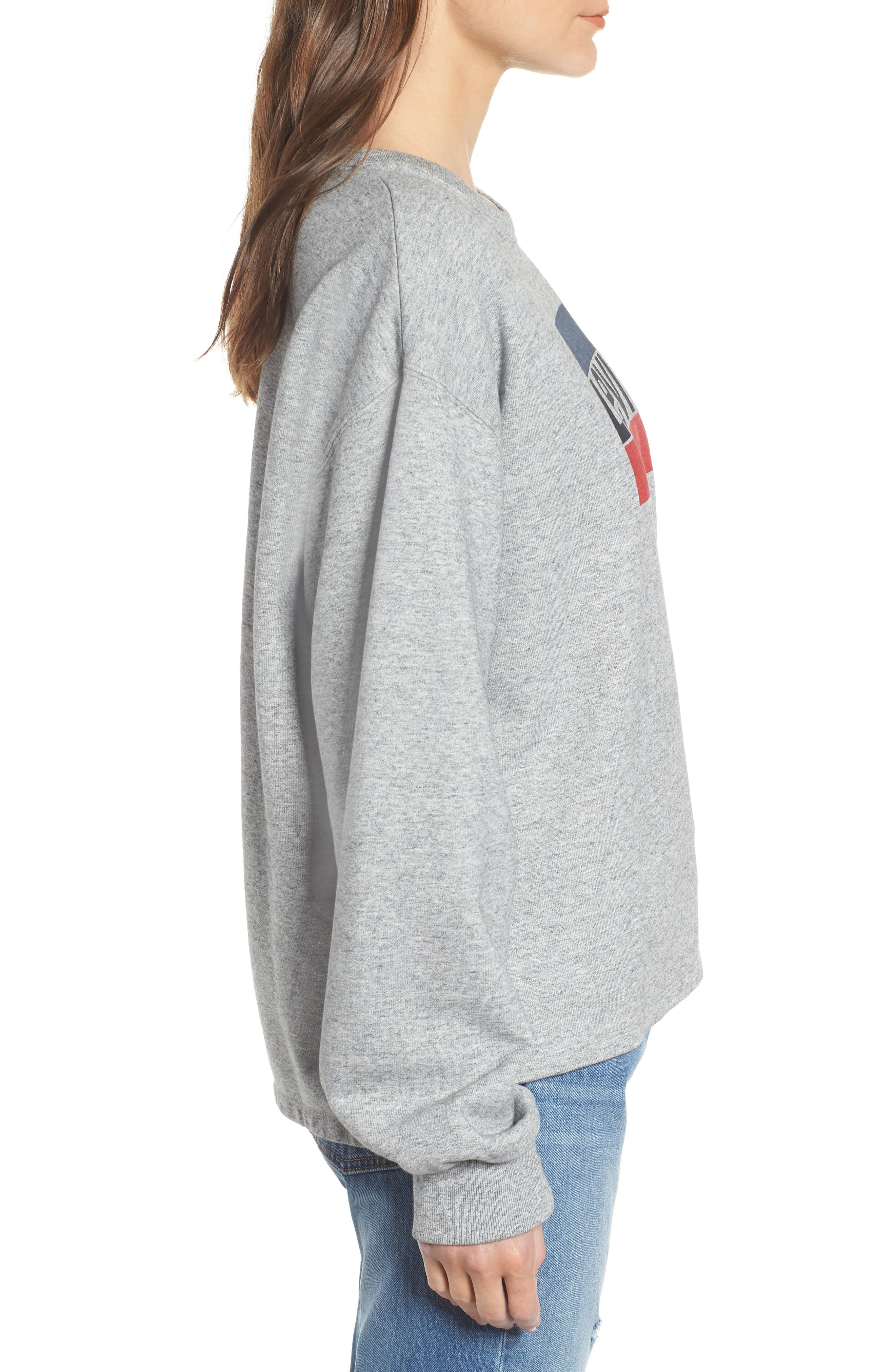 Logo Big Sleeve Sweatshirt,                             Alternate thumbnail 3, color,                             020