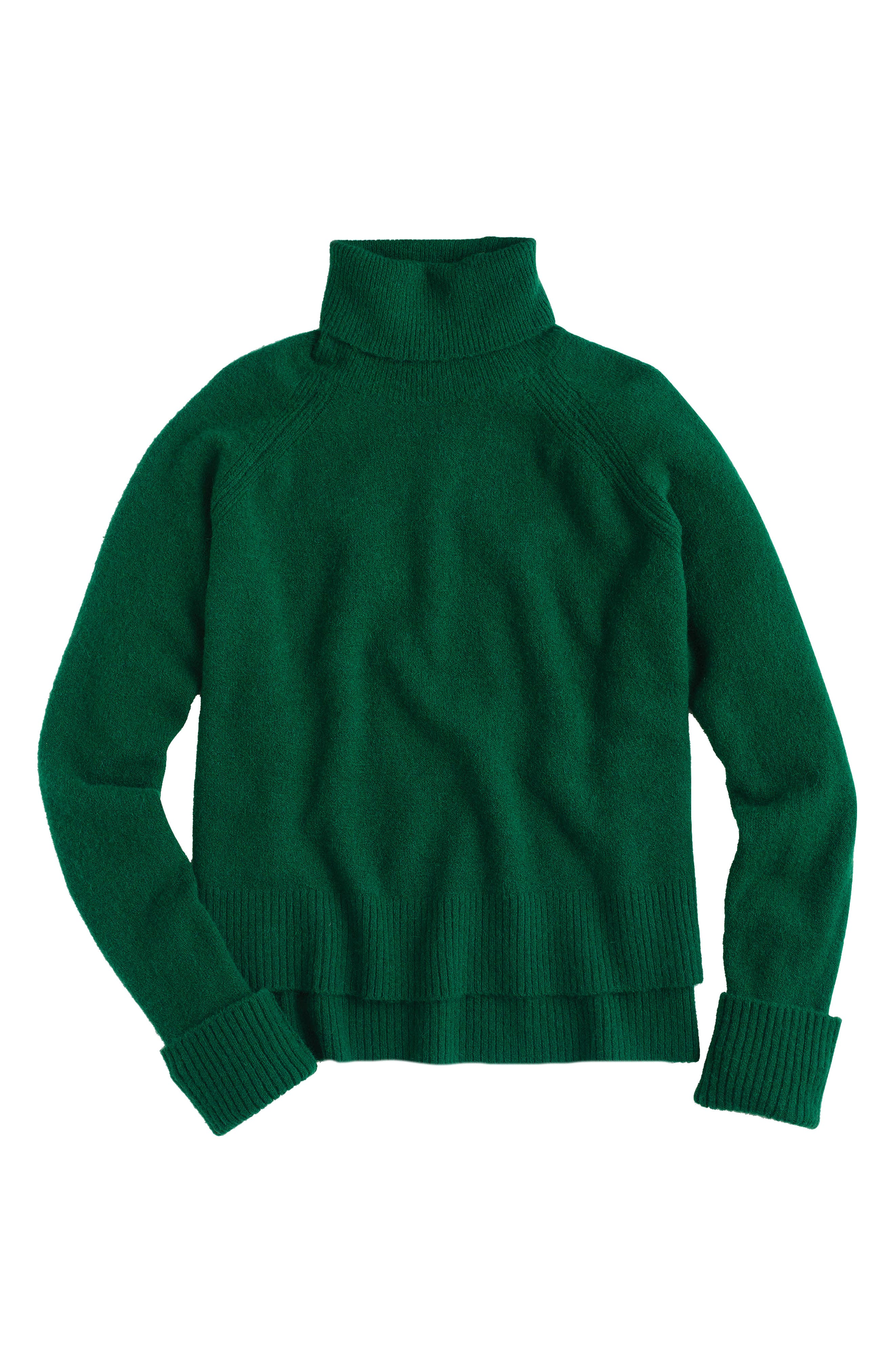 Side Slit Supersoft Turtleneck Sweater,                             Main thumbnail 3, color,