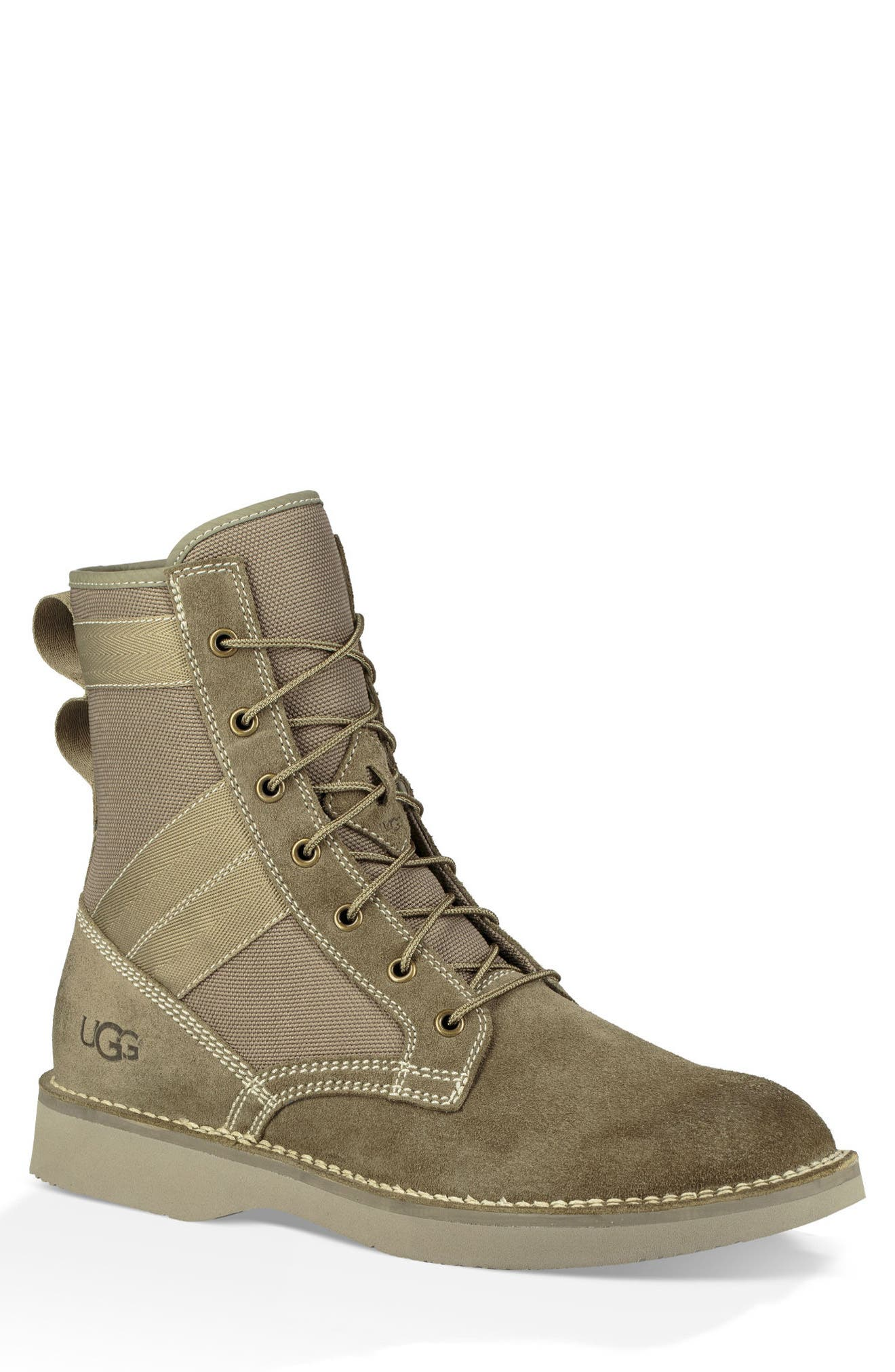 Camino Plain Toe Boot,                             Main thumbnail 1, color,                             TAUPE
