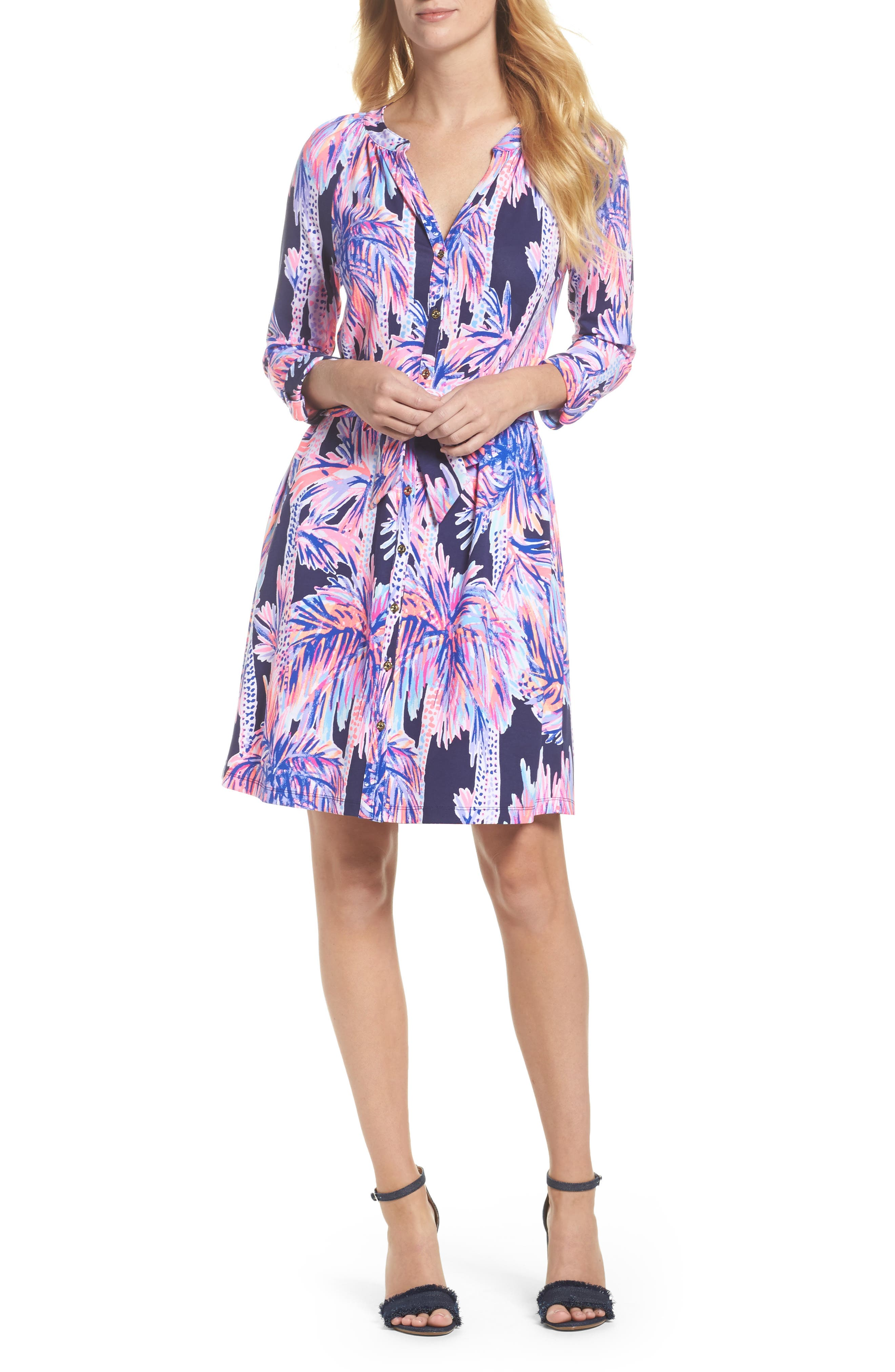 Bailor Shirtdress,                         Main,                         color, 410