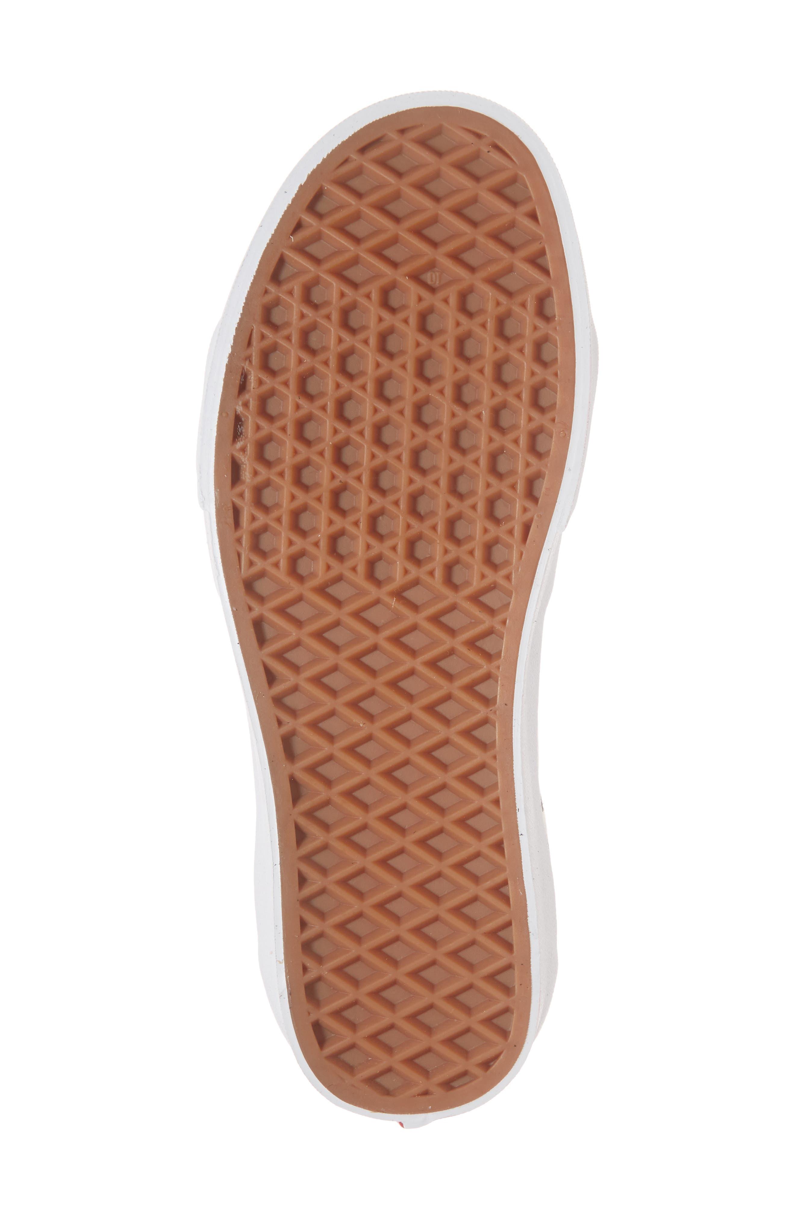 Sk8-Hi Checker Sneaker,                             Alternate thumbnail 6, color,                             003