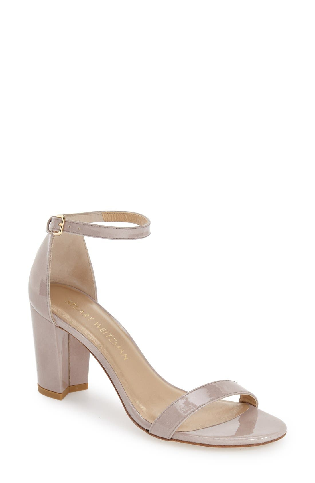 NearlyNude Ankle Strap Sandal,                             Main thumbnail 19, color,