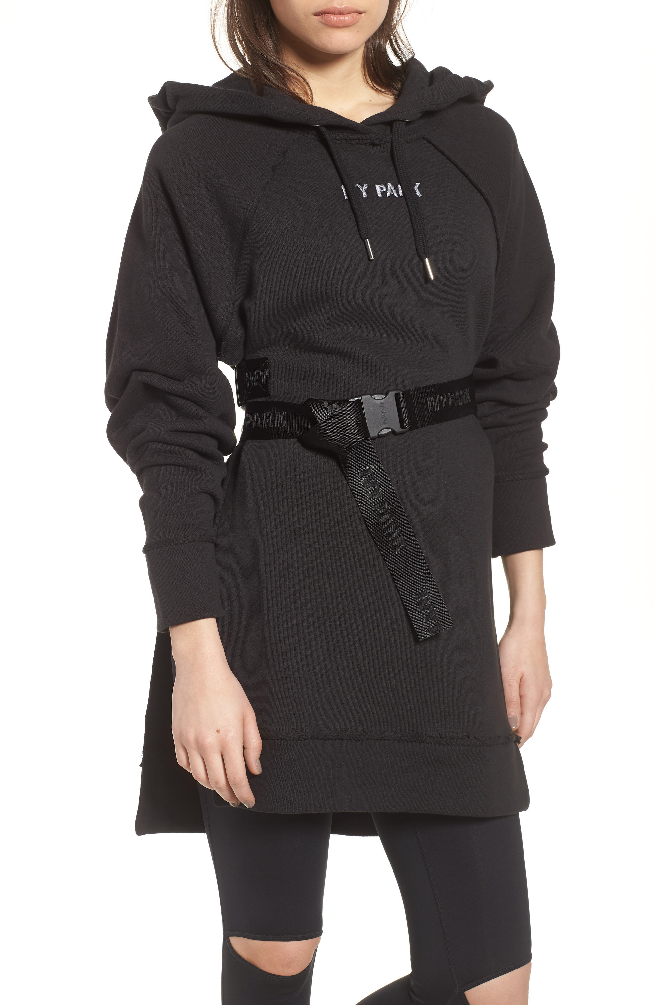 Harness Belt Hoodie,                         Main,                         color,