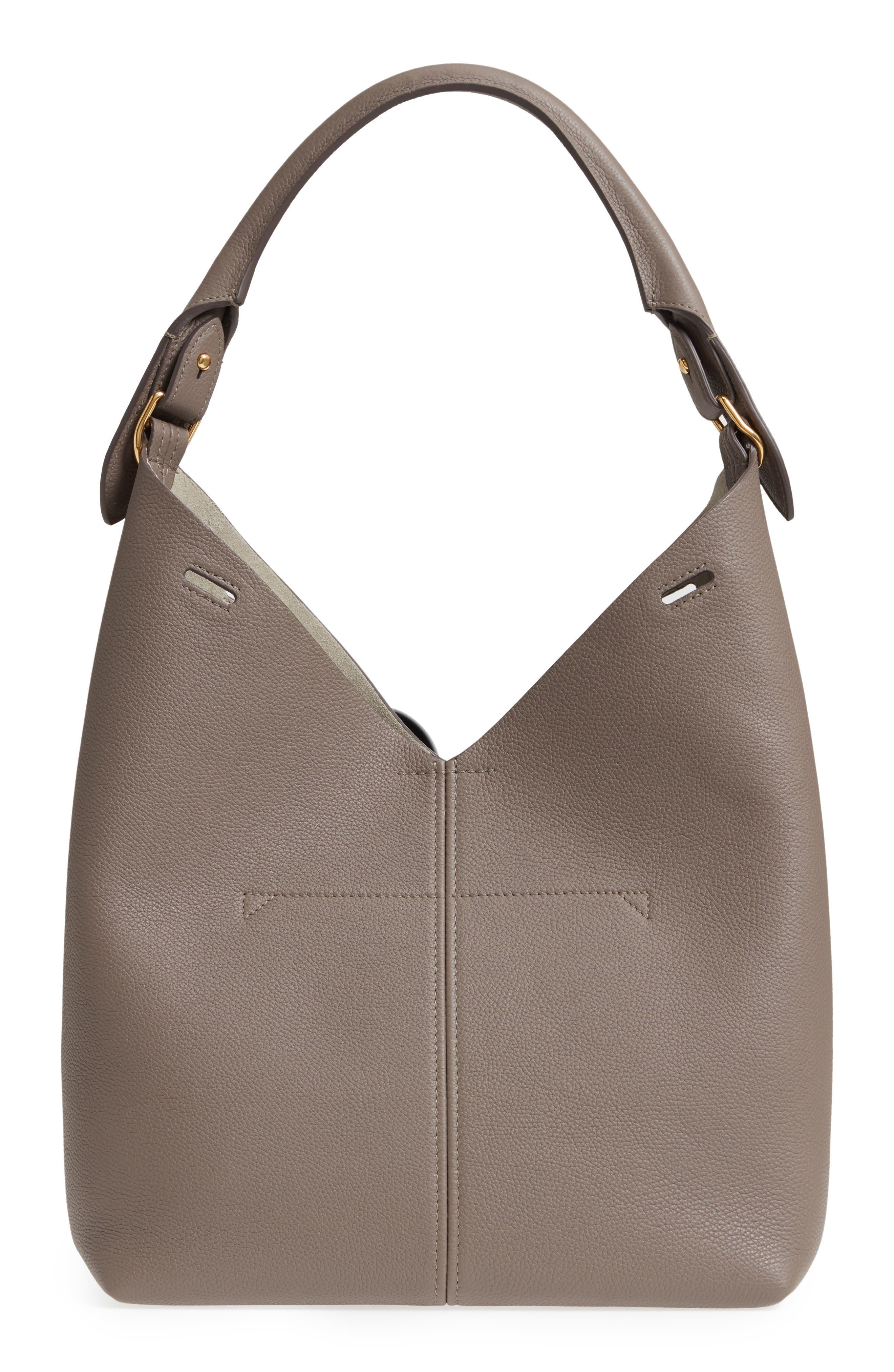 ANYA HINDMARCH   Anya Hindmarch Small Build A Bag Leather Base Bag -   Goxip