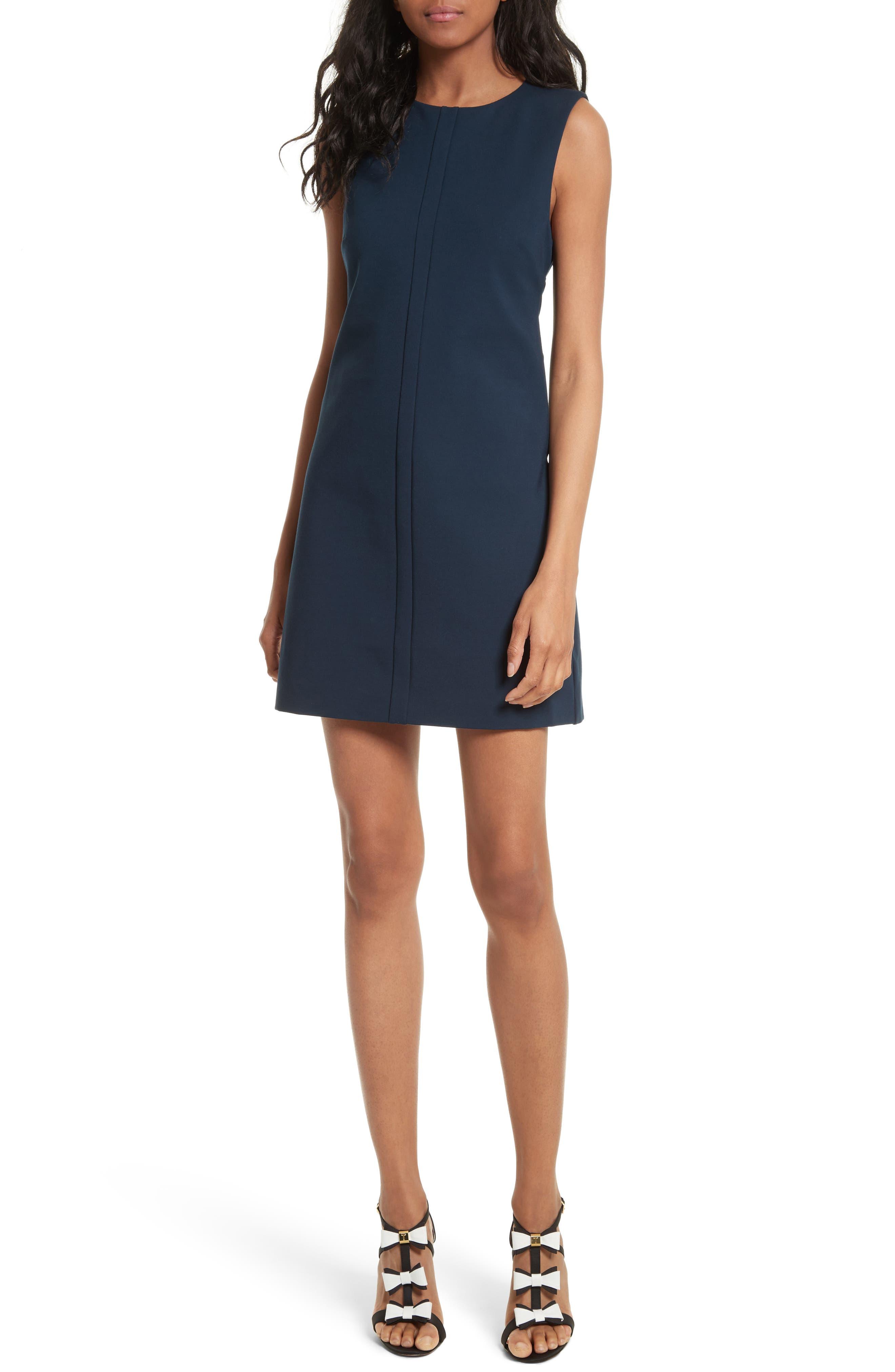 Papron Tie Front Dress, Main, color, 410
