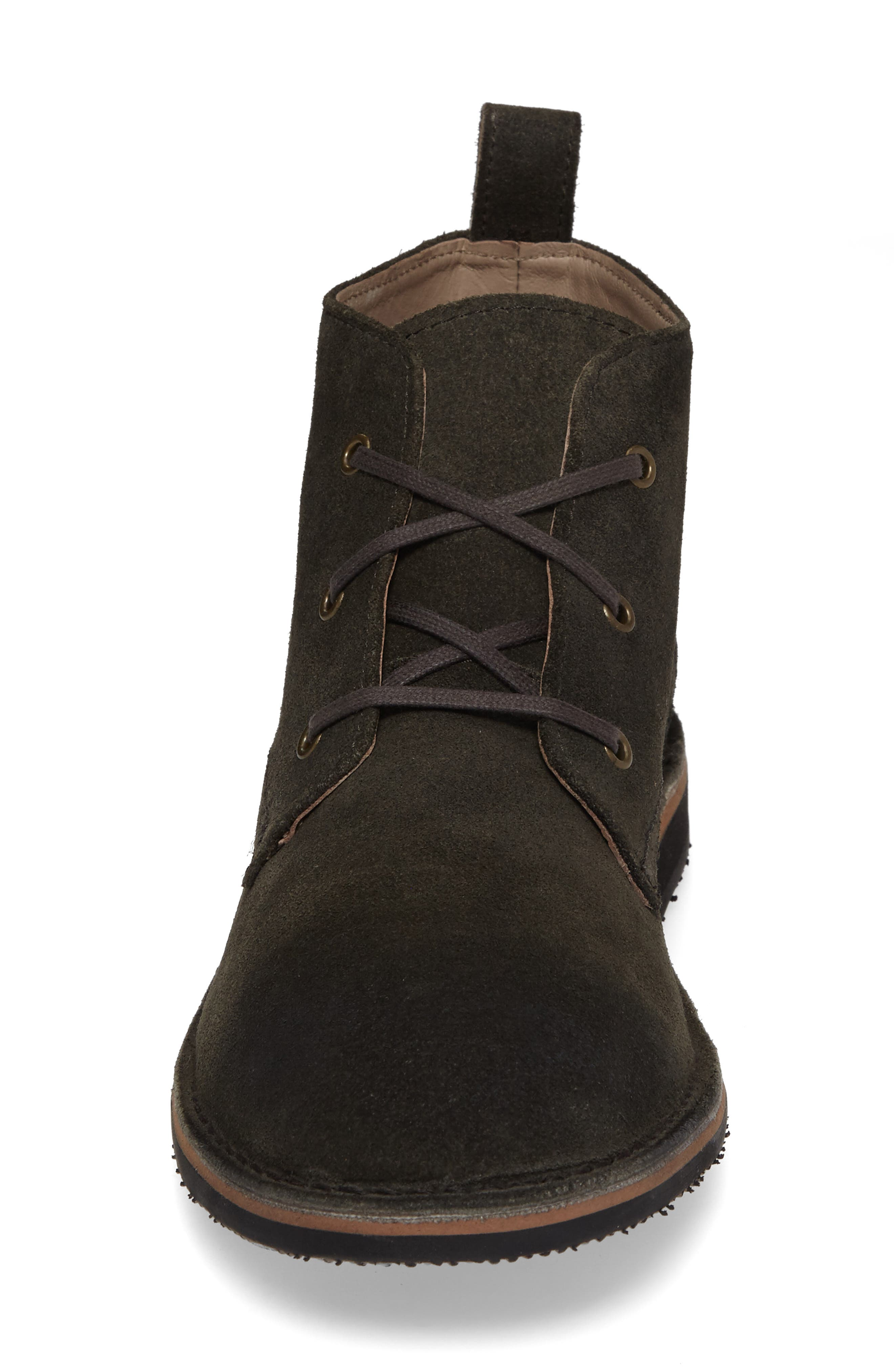Dorchester Chukka Boot,                             Alternate thumbnail 4, color,                             OXIDE/ DEEP NATURAL SUEDE