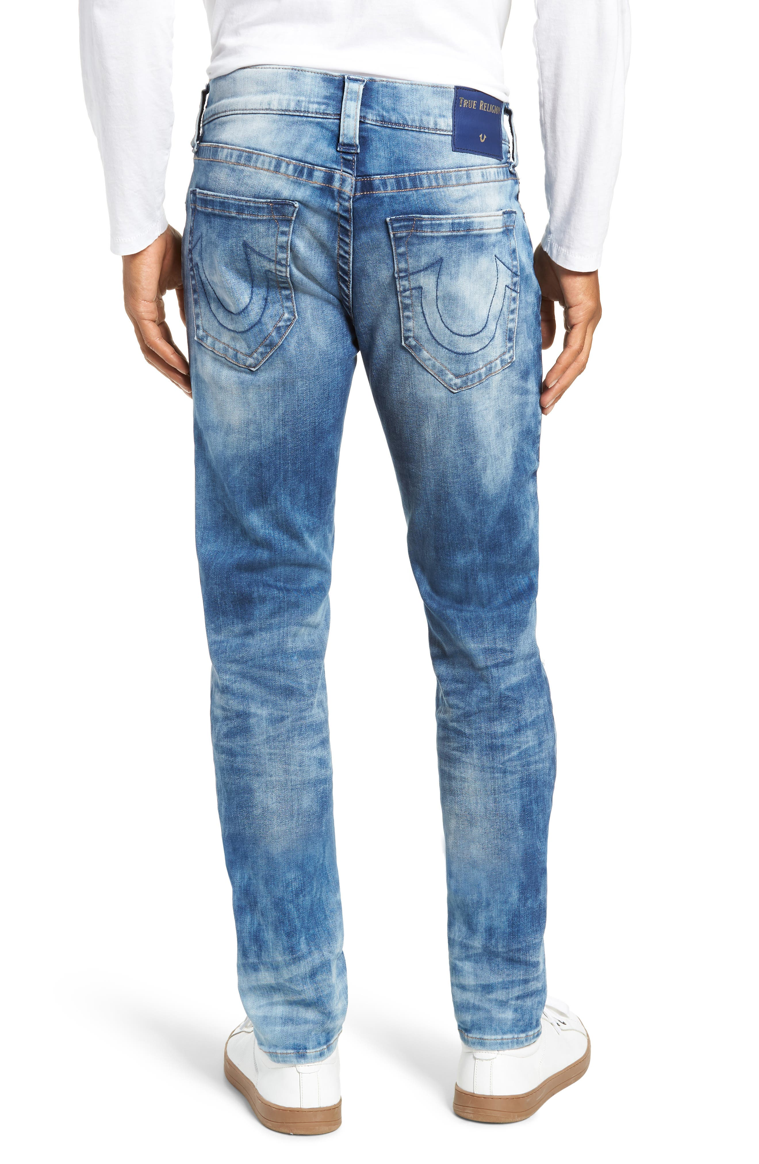Rocco Skinny Fit Jeans,                             Alternate thumbnail 2, color,                             BLUE RIOT