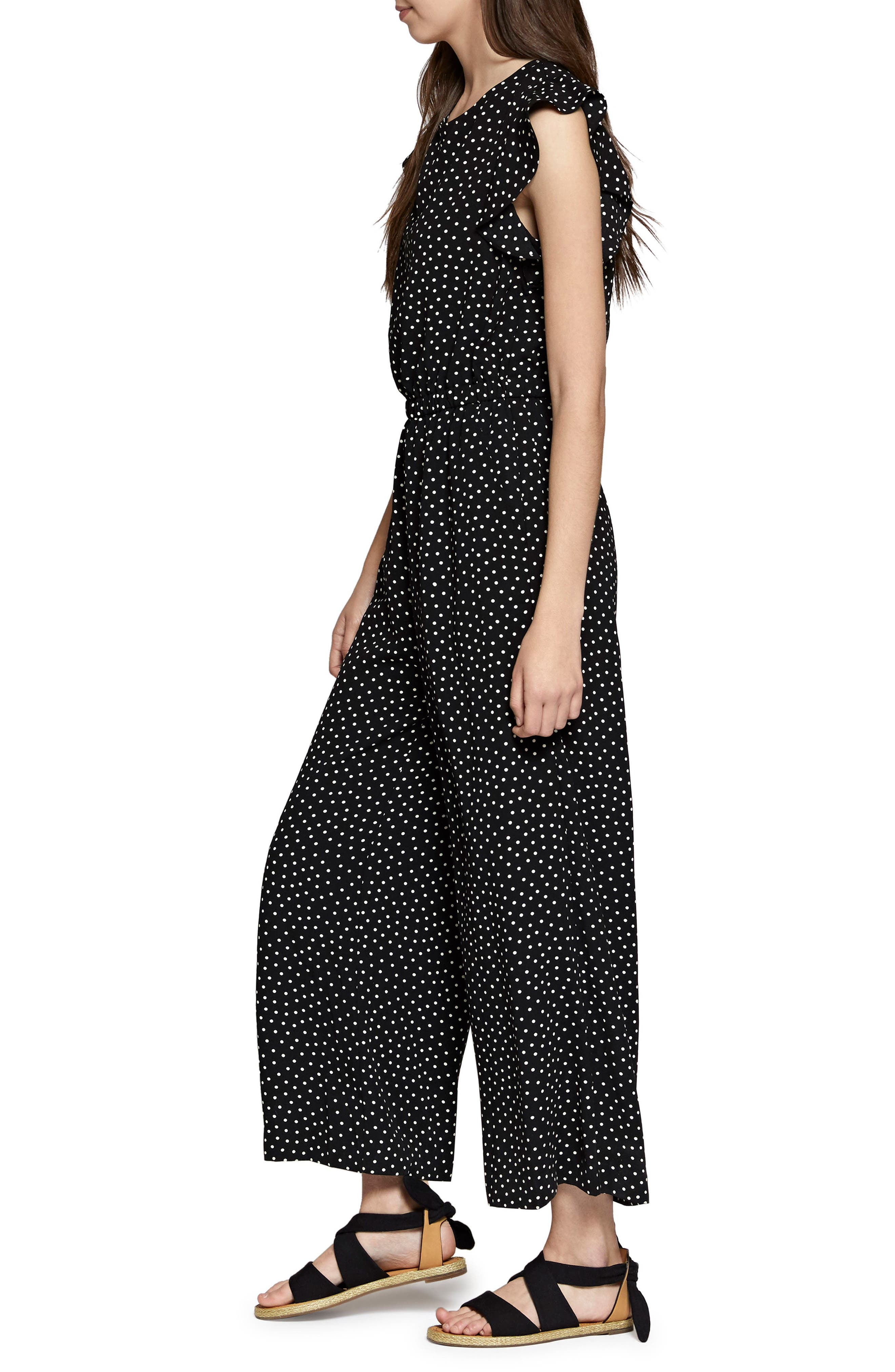 Antonella Print Jumpsuit,                             Alternate thumbnail 3, color,                             014