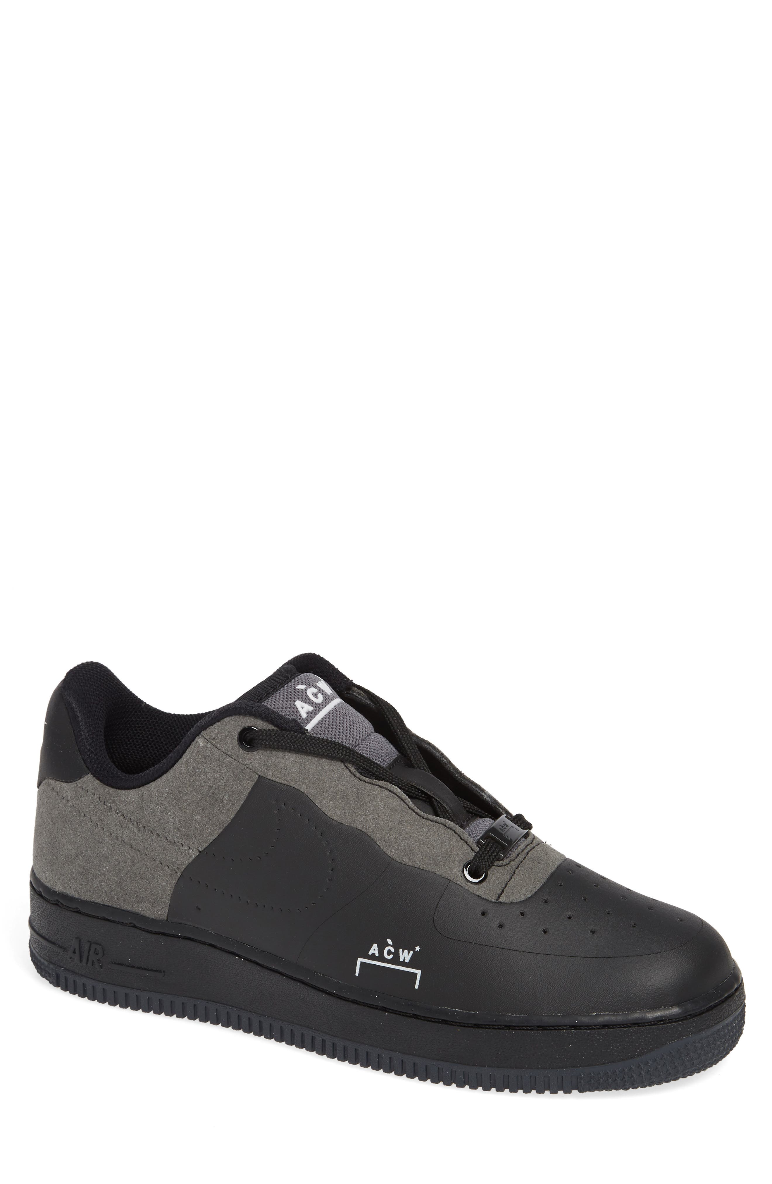 x A-COLD-WALL Air Force 1 '07 Sneaker, Main, color, BLACK/ WHITE/ DARK GREY