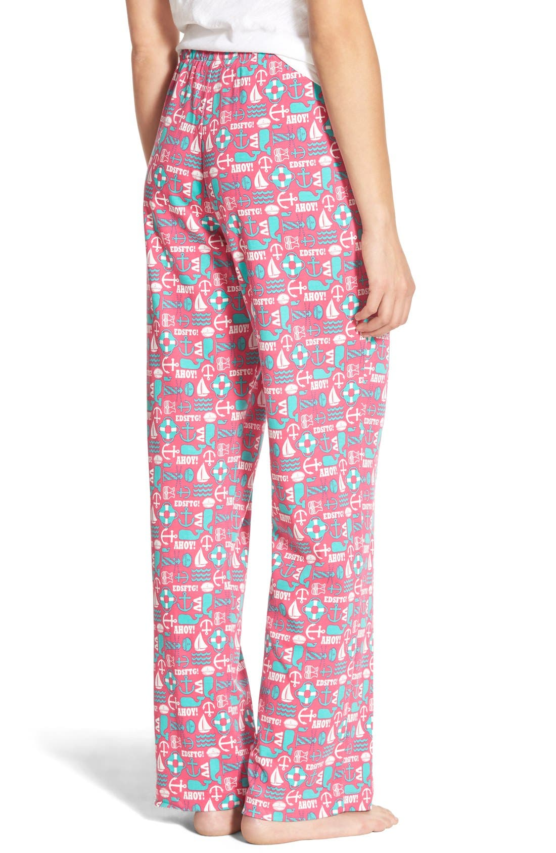 VINEYARD VINES,                             'Nautical Icon' Cotton Lounge Pants,                             Alternate thumbnail 2, color,                             658