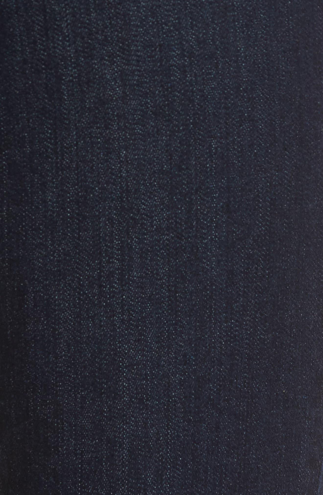 b(air) Roxanne Ankle Skinny Jeans,                             Alternate thumbnail 6, color,                             401