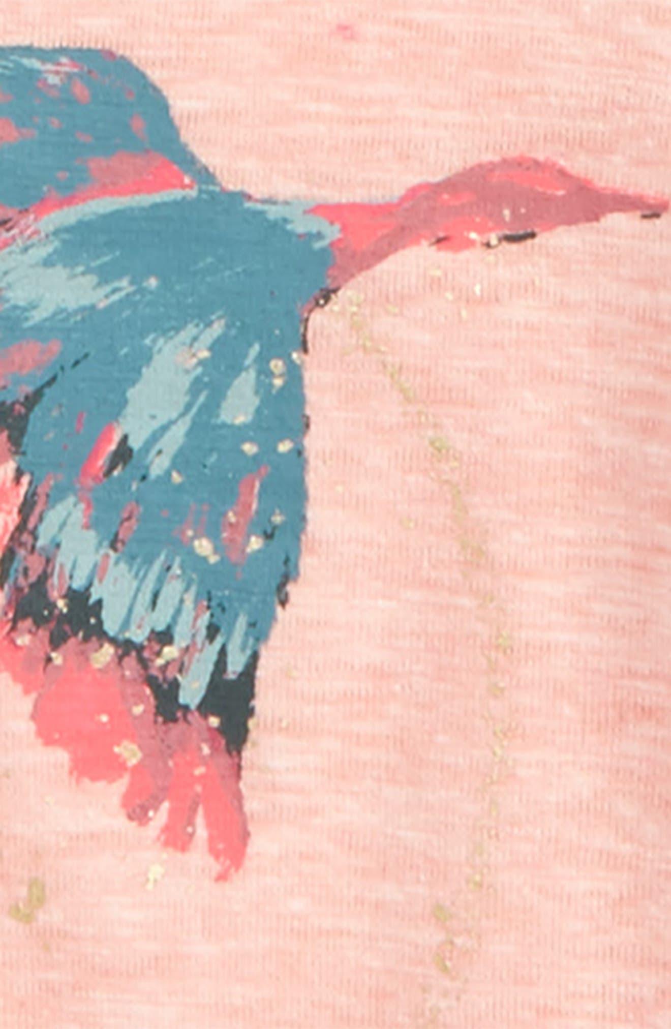 Joanna Peplum Tee,                             Alternate thumbnail 2, color,