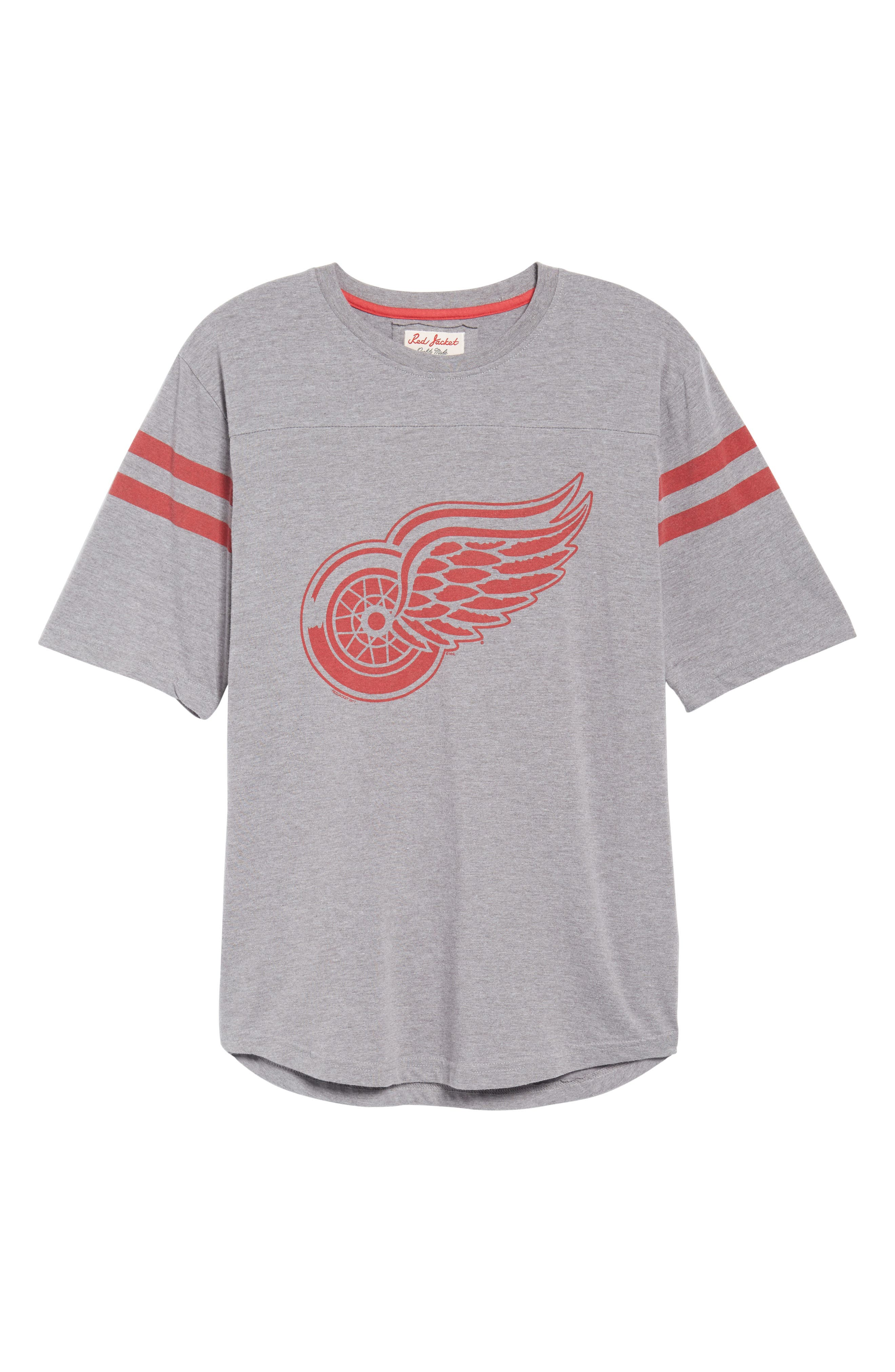 Crosby Detroit Red Wings T-Shirt,                             Alternate thumbnail 6, color,