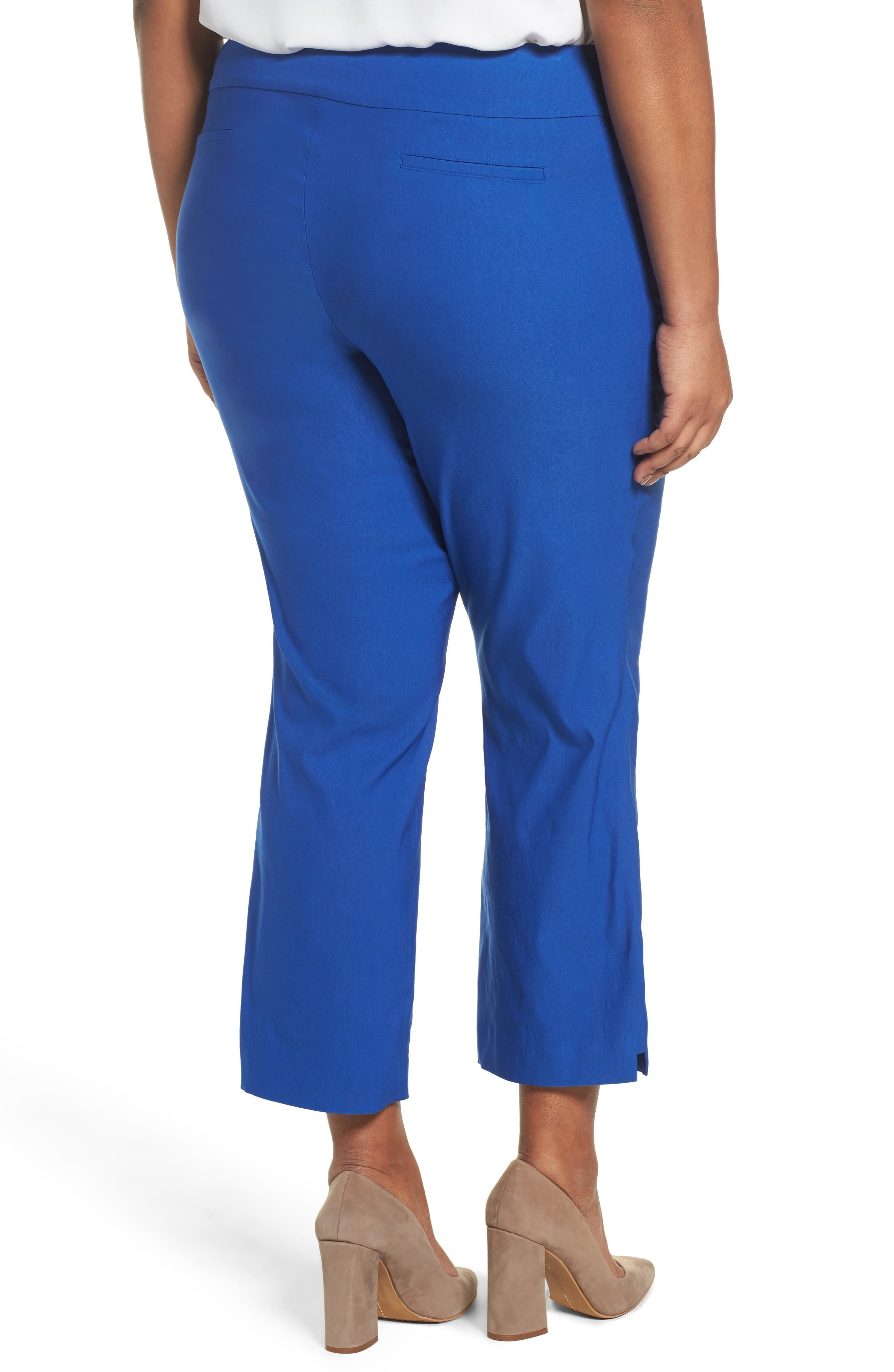 Stretch Ankle Pants,                             Alternate thumbnail 4, color,