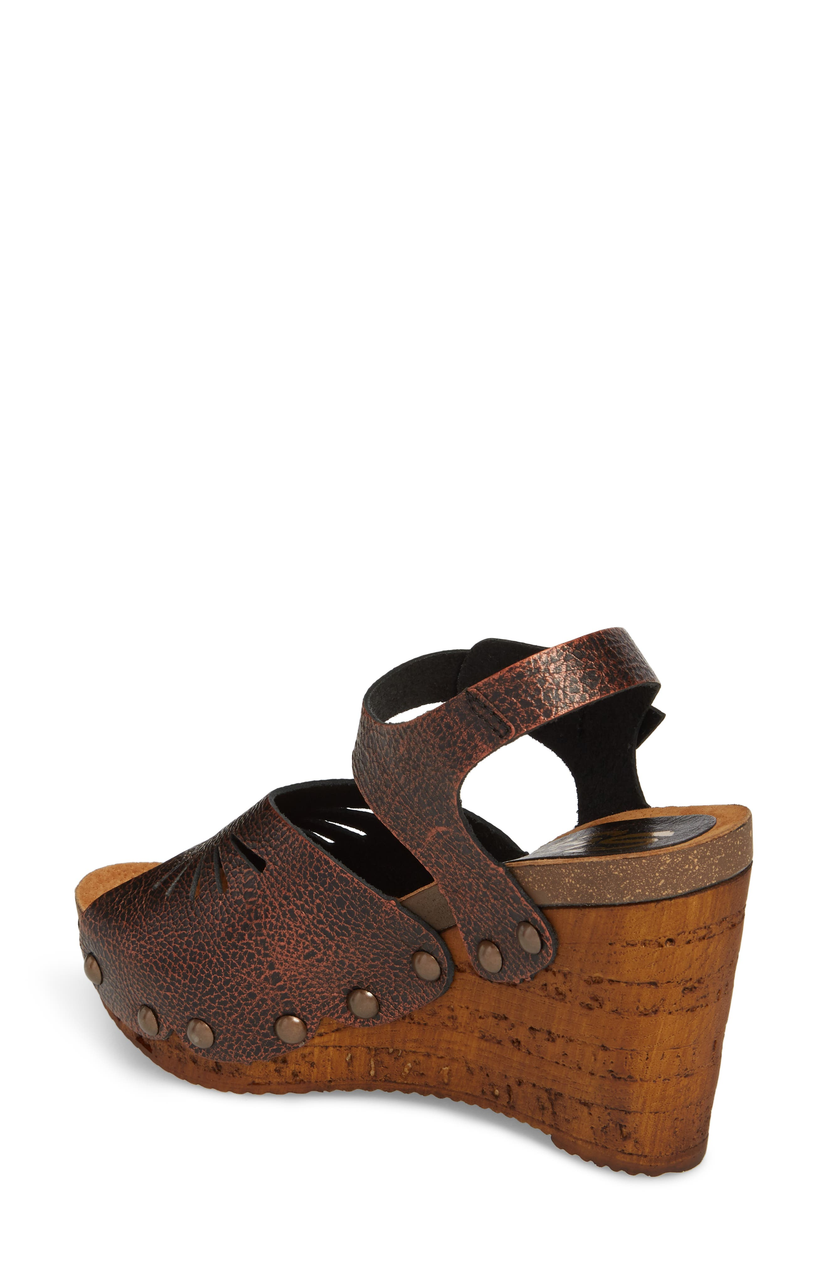 Langsa Wedge Sandal,                             Alternate thumbnail 4, color,