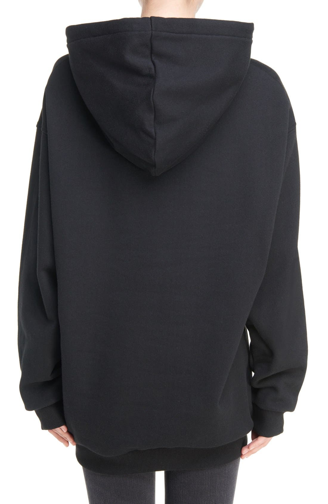 Yala Patch Hoodie,                             Alternate thumbnail 3, color,                             002