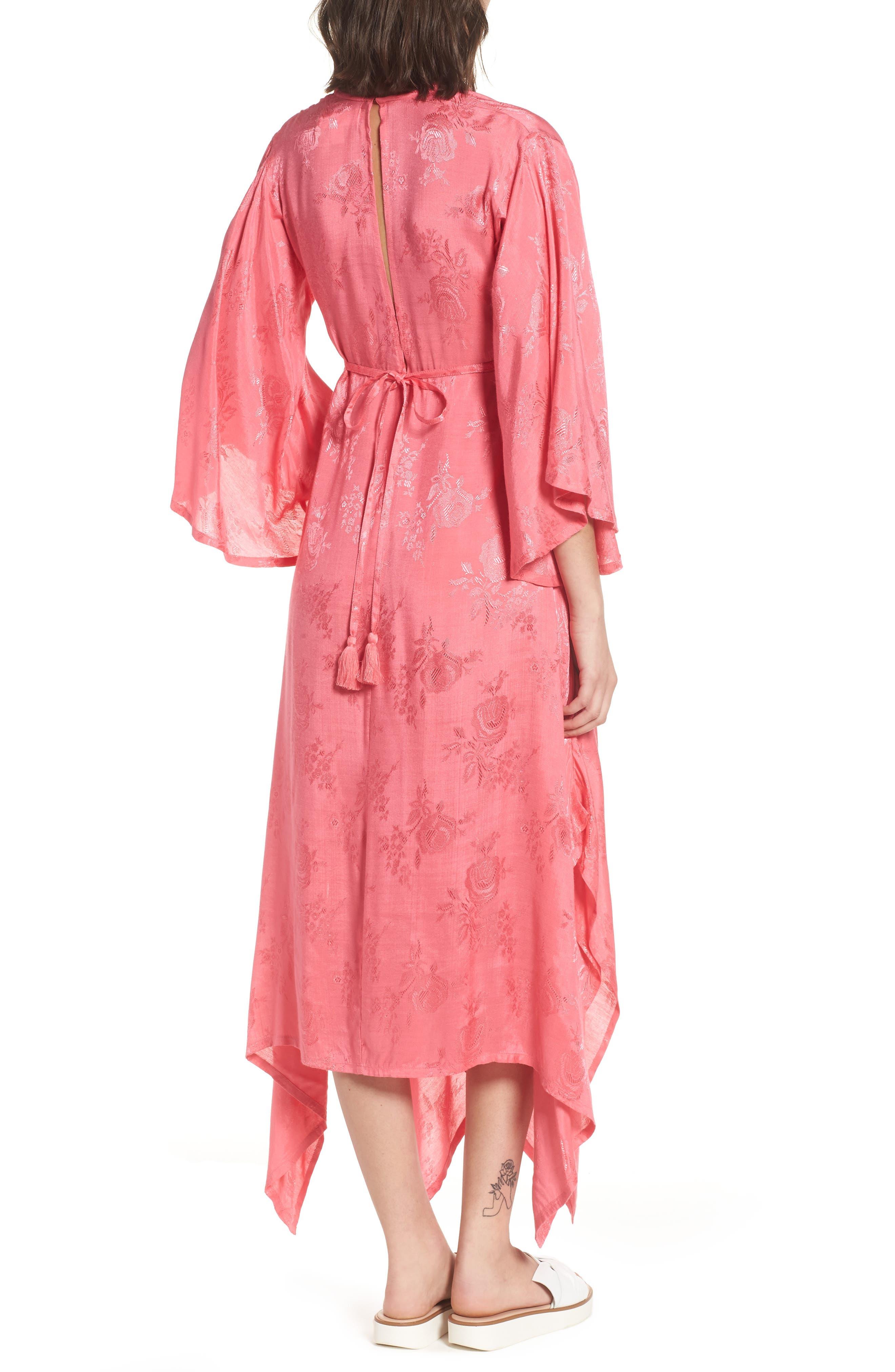 Florence Handkerchief Hem Dress,                             Alternate thumbnail 2, color,                             650