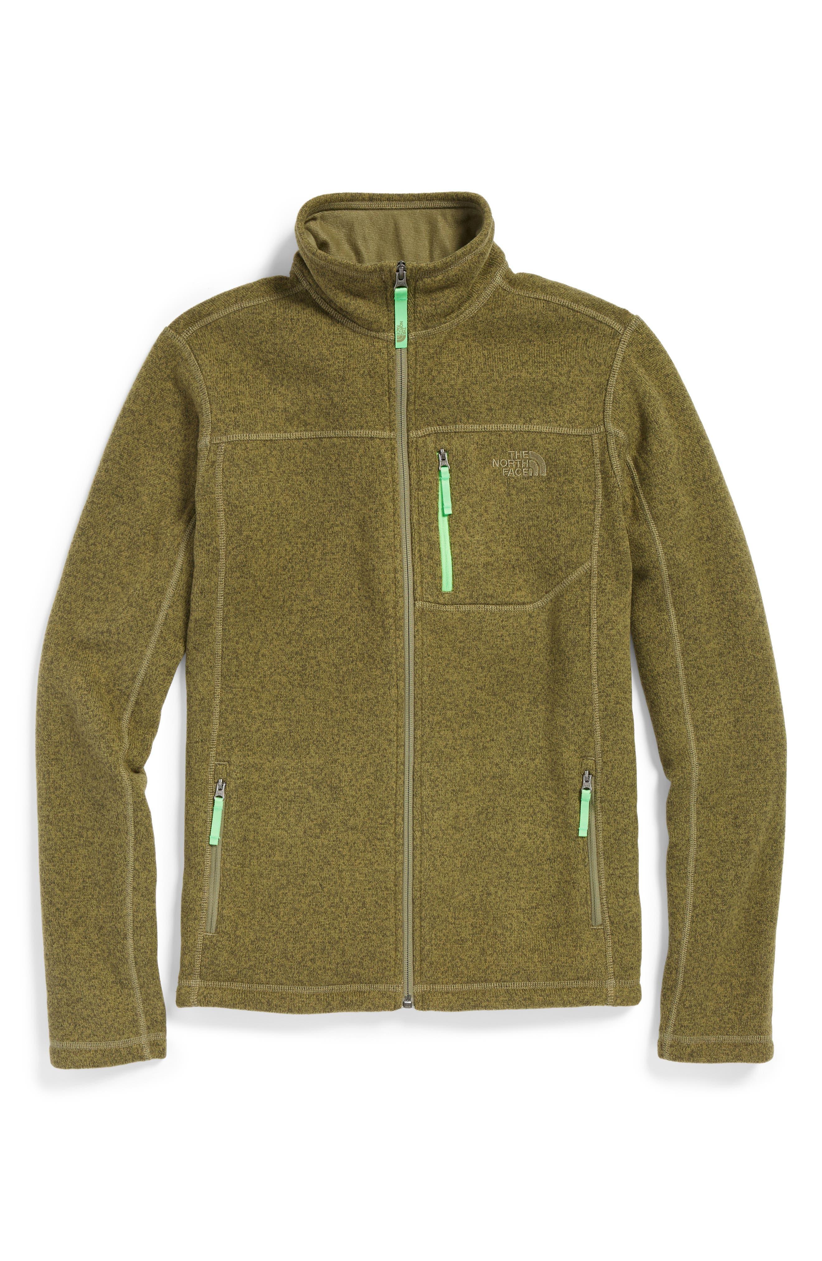 Gordon Lyons Sweater Fleece Zip Jacket,                             Main thumbnail 6, color,