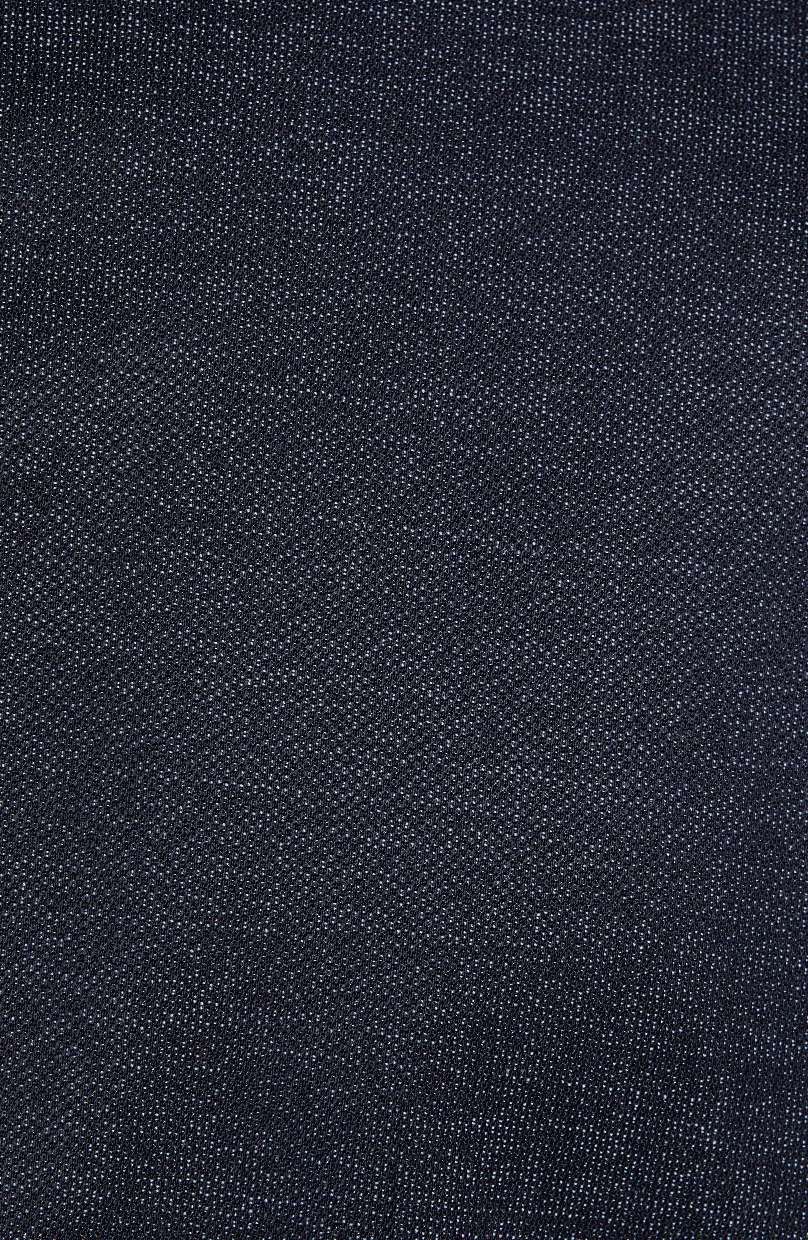 Huge/Genius Trim Fit Solid Wool Suit,                             Alternate thumbnail 7, color,                             OPEN BLUE