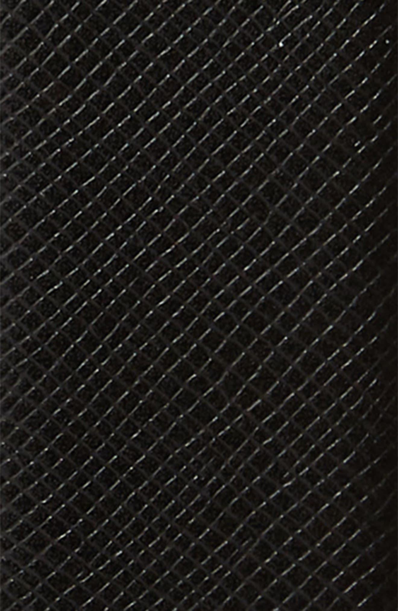 TED BAKER LONDON,                             Reversible Leather Belt,                             Alternate thumbnail 3, color,                             BLACK