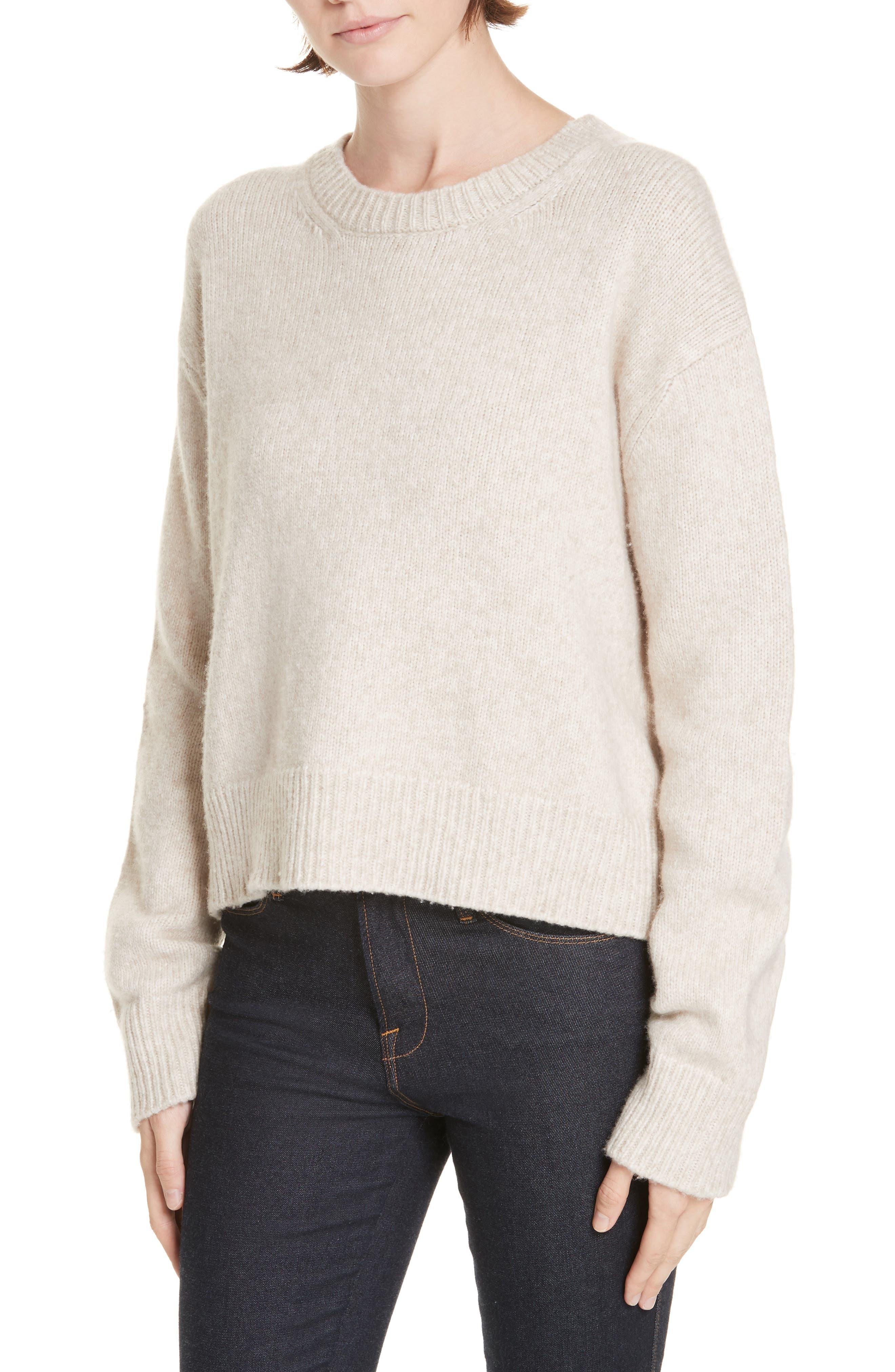 JENNI KAYNE Atlas Sweater in Oatmeal