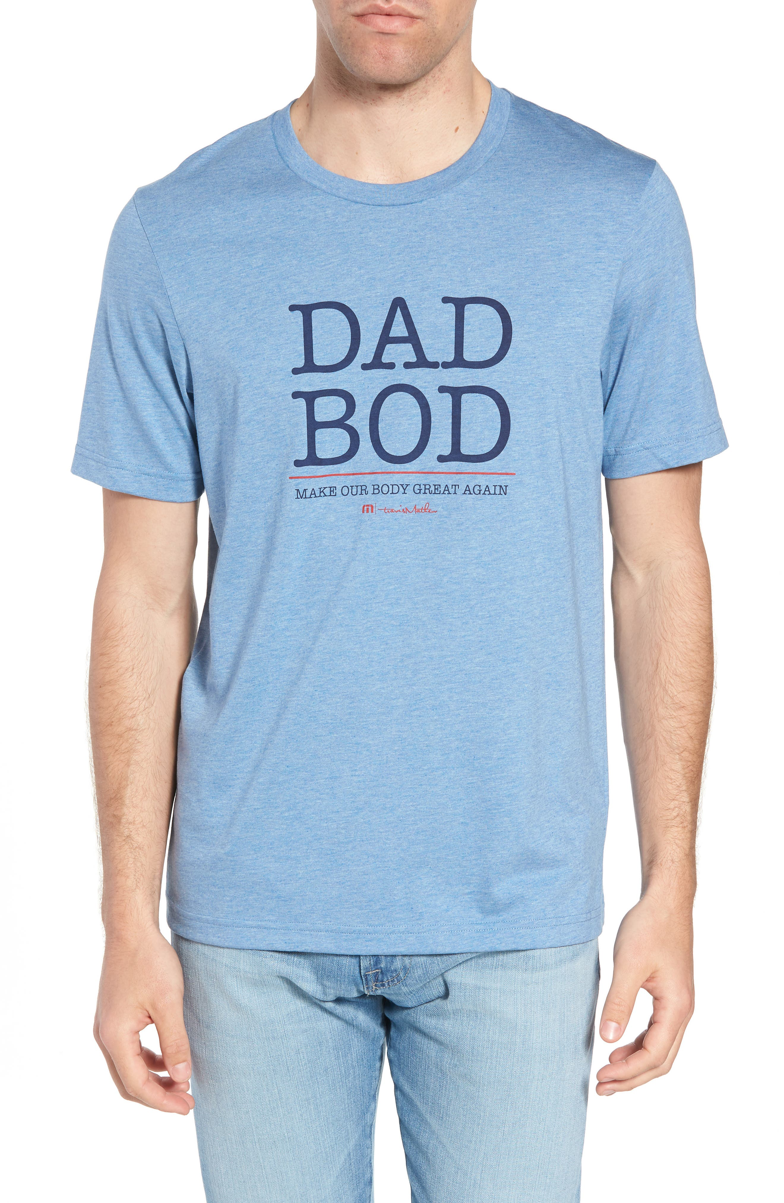 Dad Bod Regular Fit T-Shirt,                             Main thumbnail 1, color,                             400