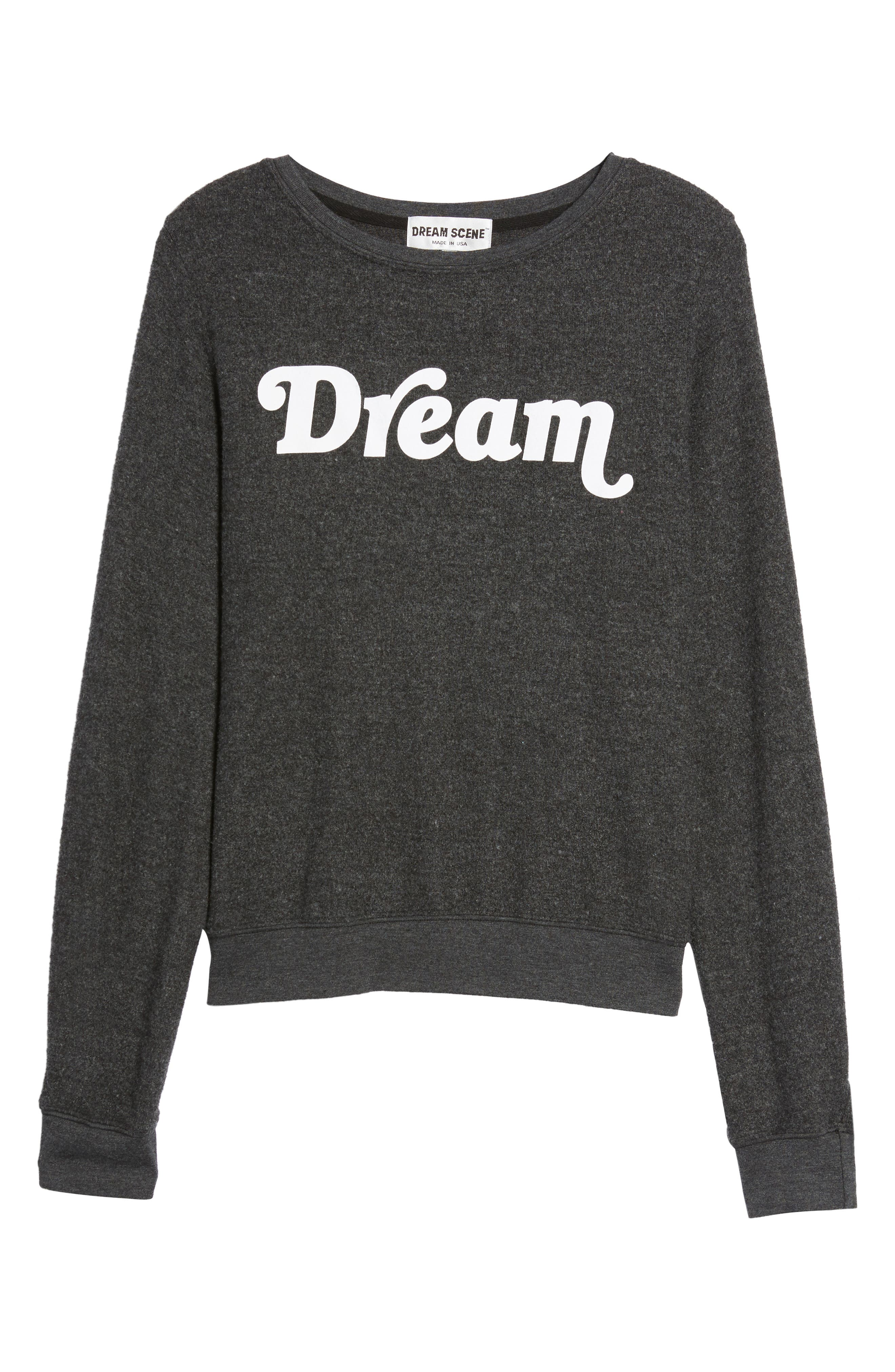 Dream Sweatshirt,                             Alternate thumbnail 6, color,                             001