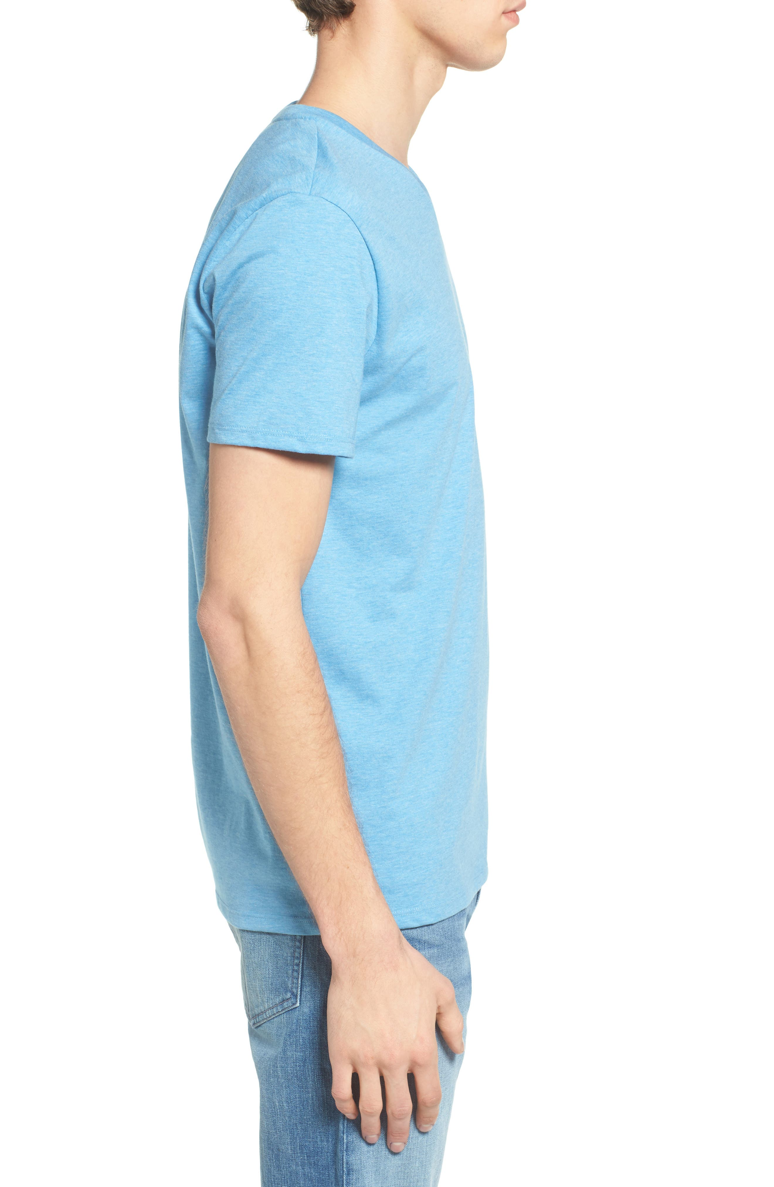V-Neck T-Shirt,                             Alternate thumbnail 14, color,