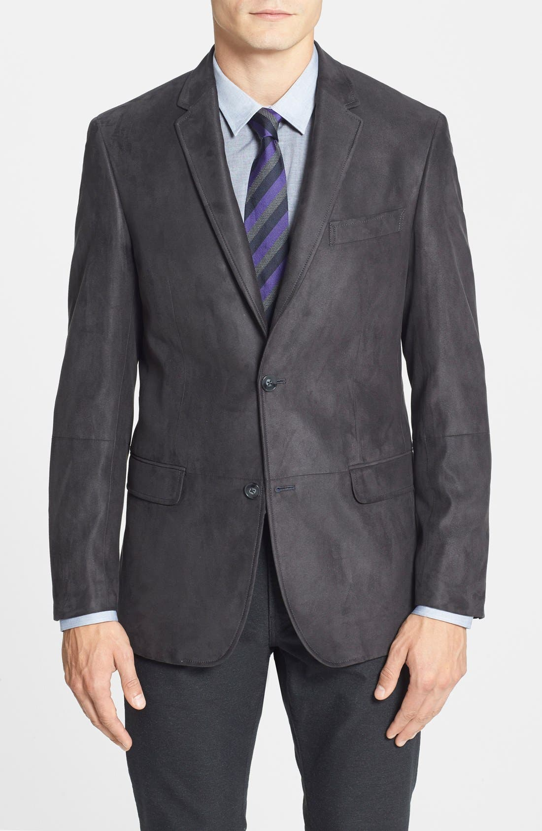Trim Fit Sport Coat, Main, color, 020