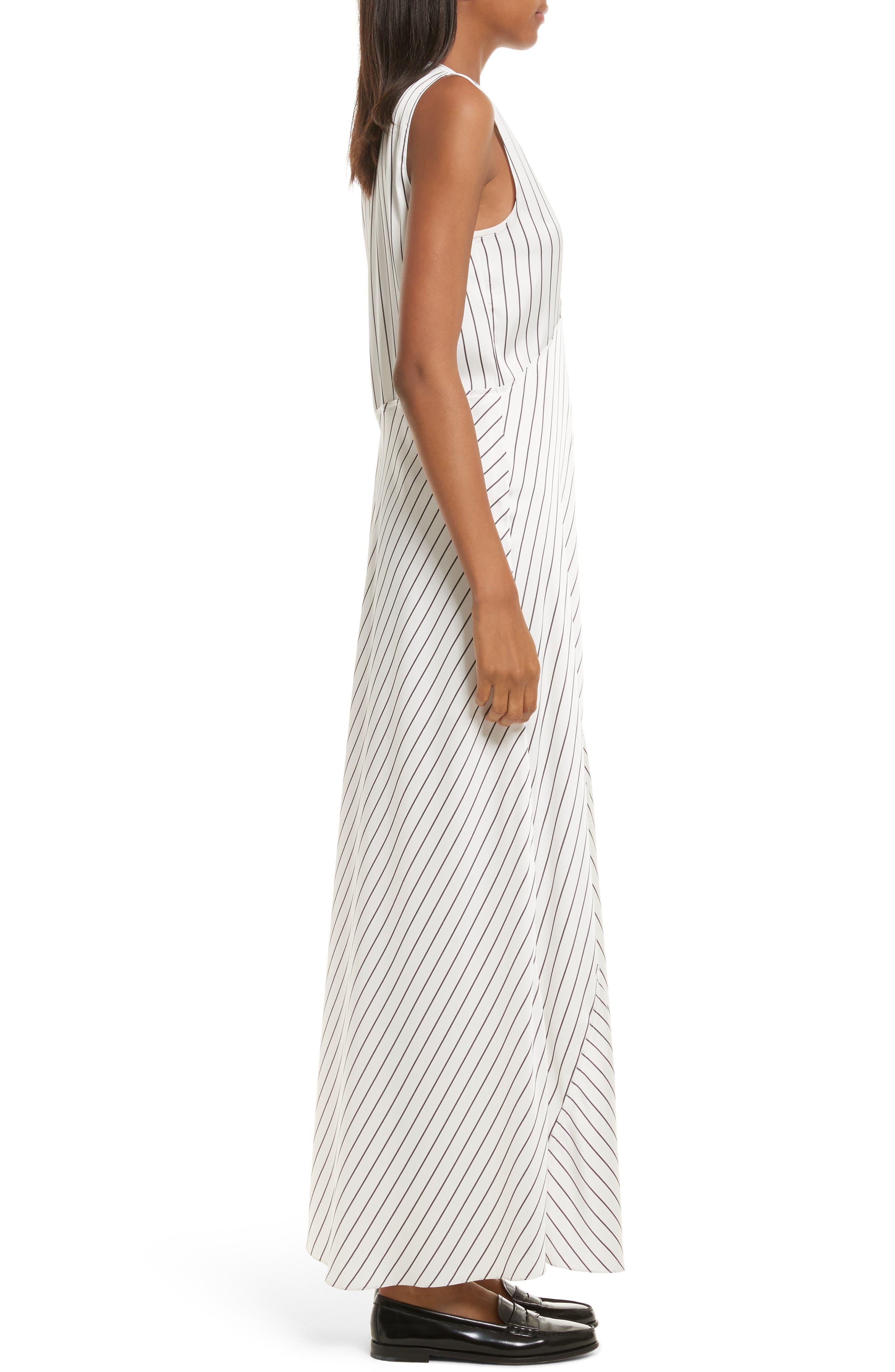 Stripe Maxi Dress,                             Alternate thumbnail 3, color,                             908