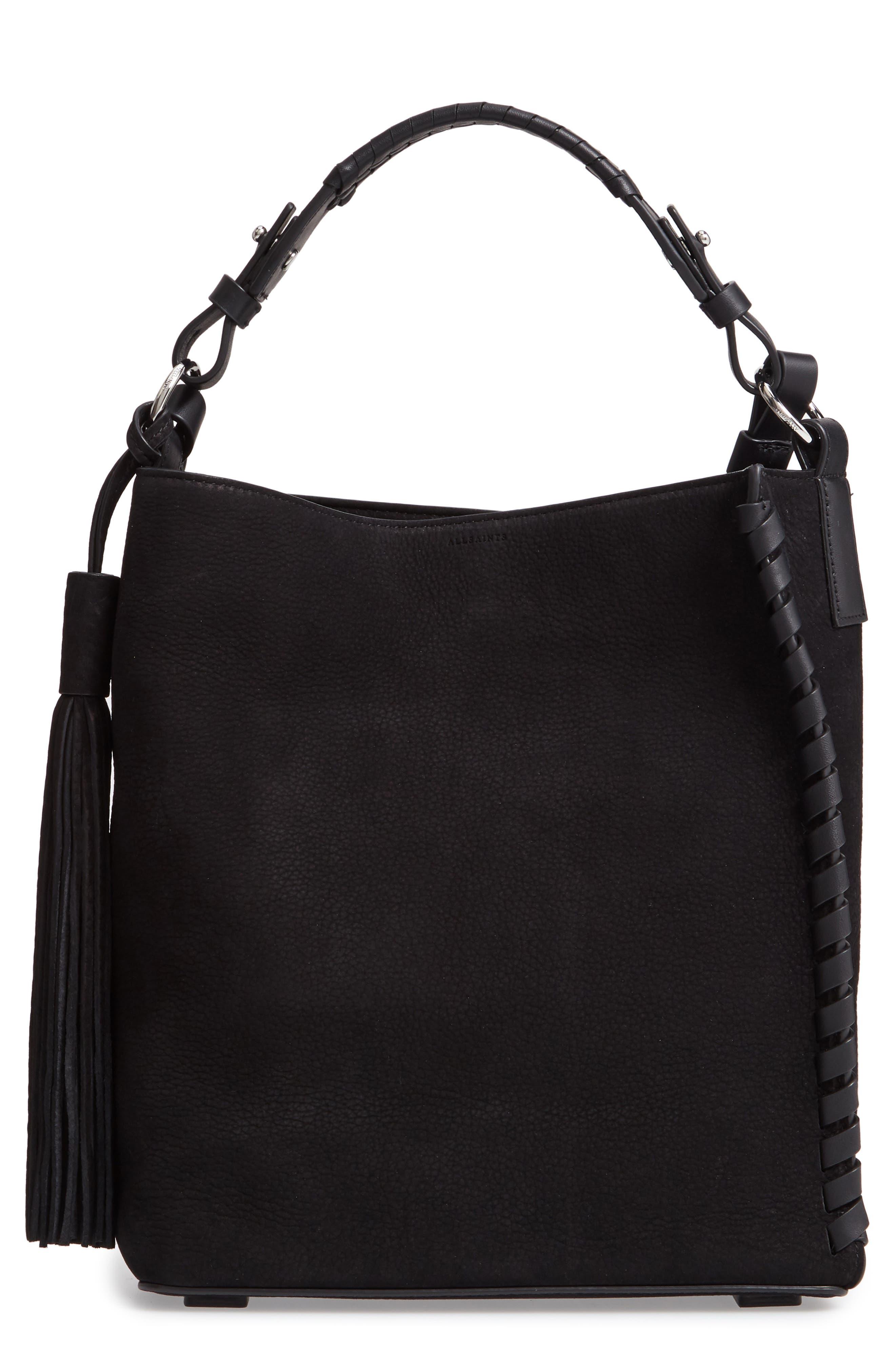 ALLSAINTS Kepi Shoulder Bag, Main, color, 006