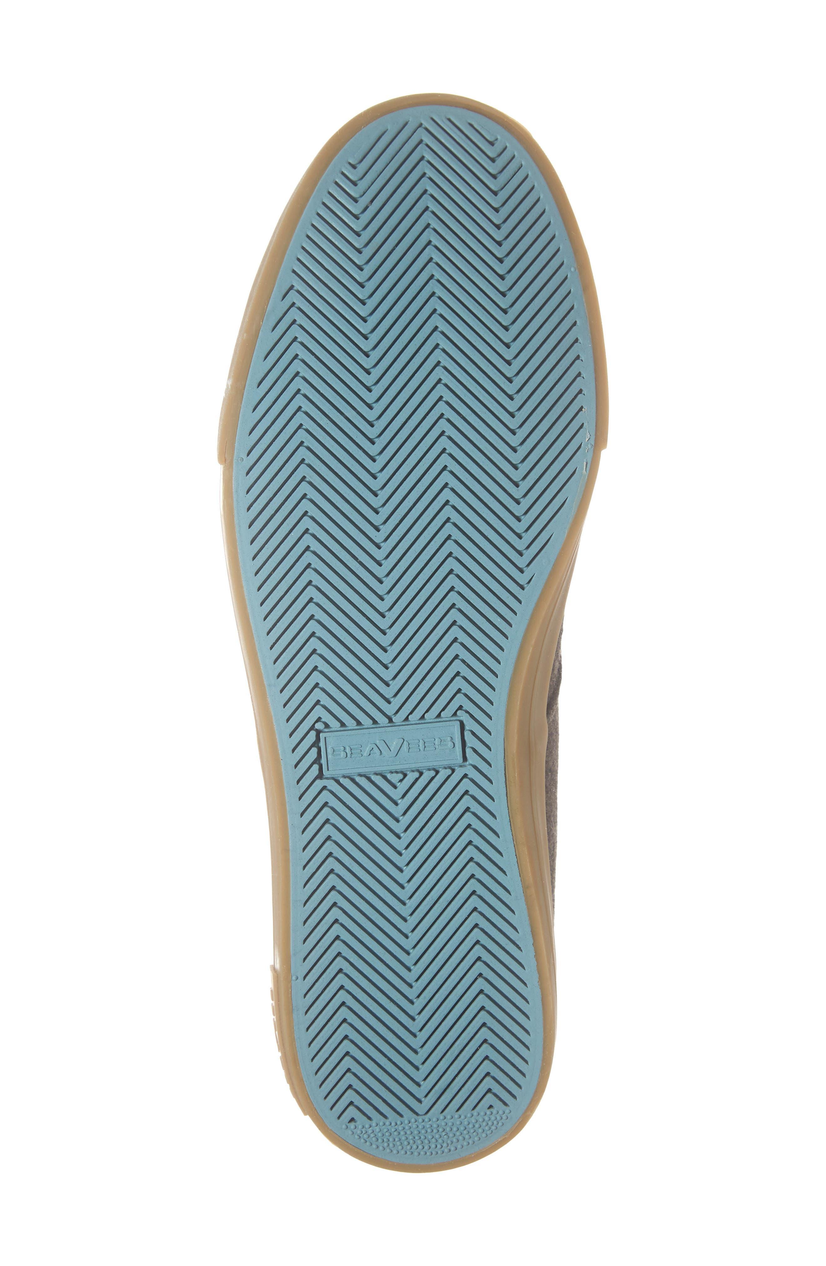 Hermosa Grayers Sneaker,                             Alternate thumbnail 6, color,                             DARK BROWN WOOL FLANNEL