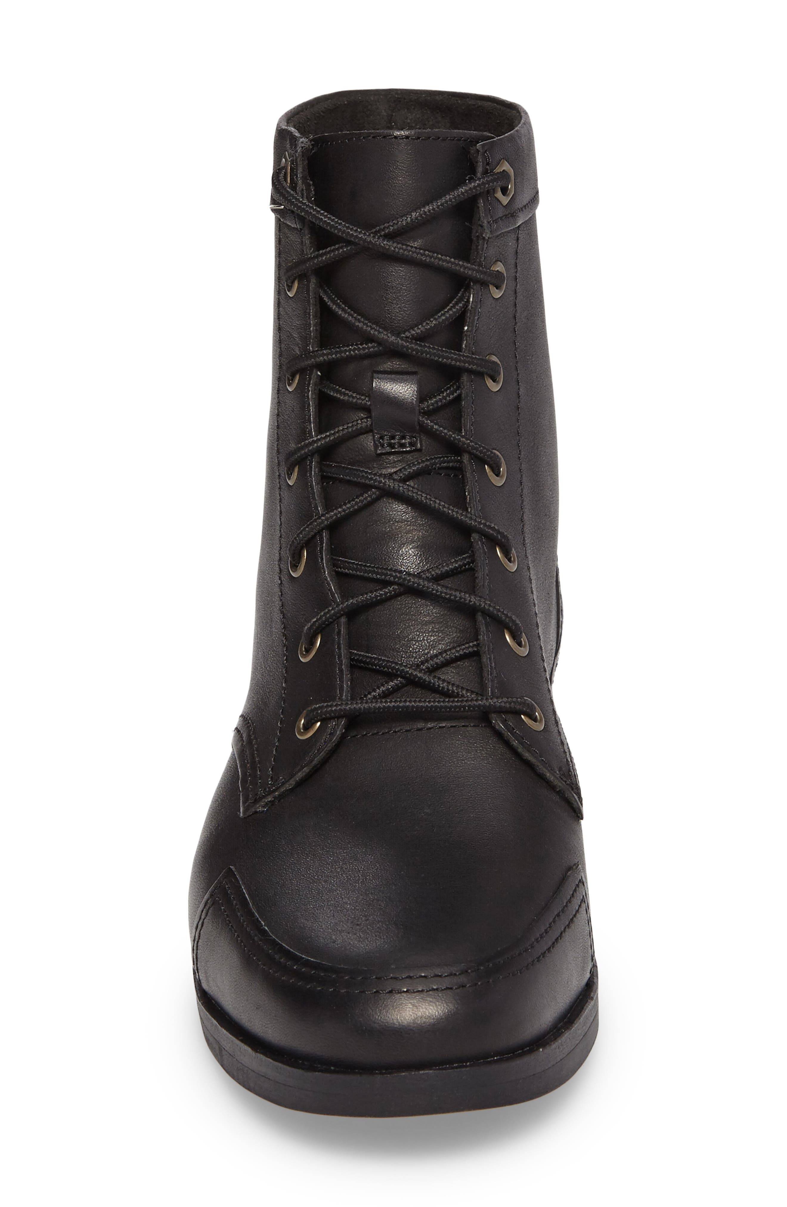 Somers Falls Lace-Up Boot,                             Alternate thumbnail 4, color,                             001