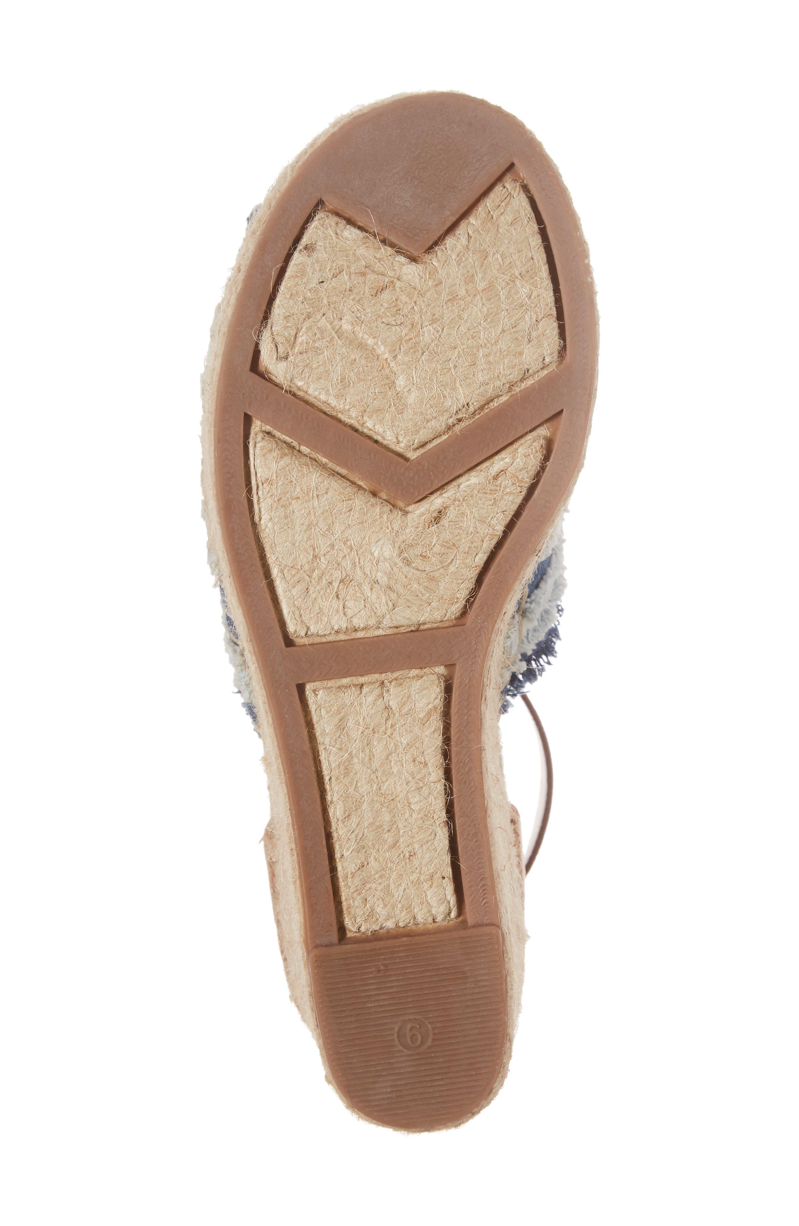 Adria Wedge Sandal,                             Alternate thumbnail 6, color,
