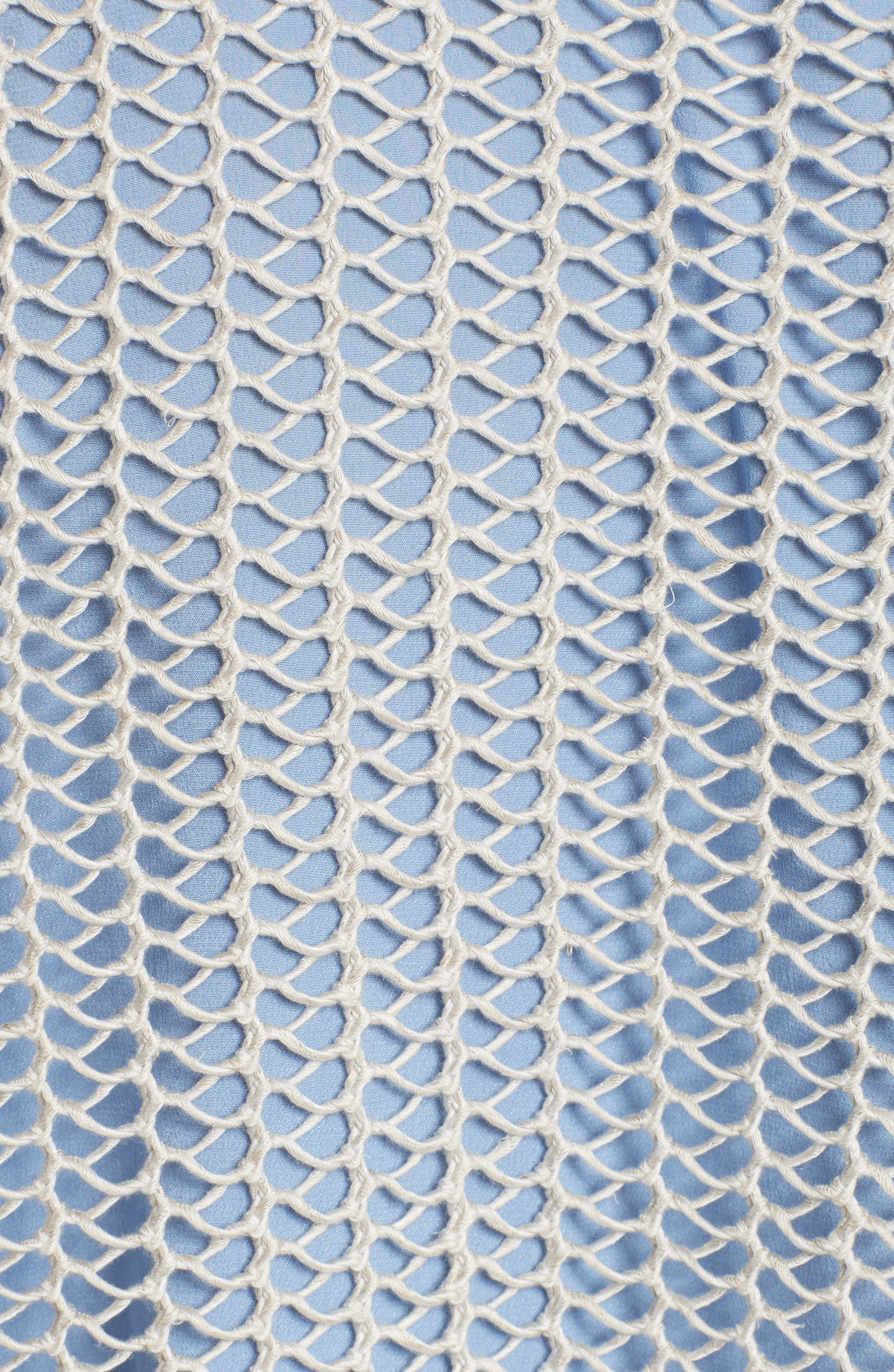 Fishnet Sweater,                             Alternate thumbnail 5, color,                             040