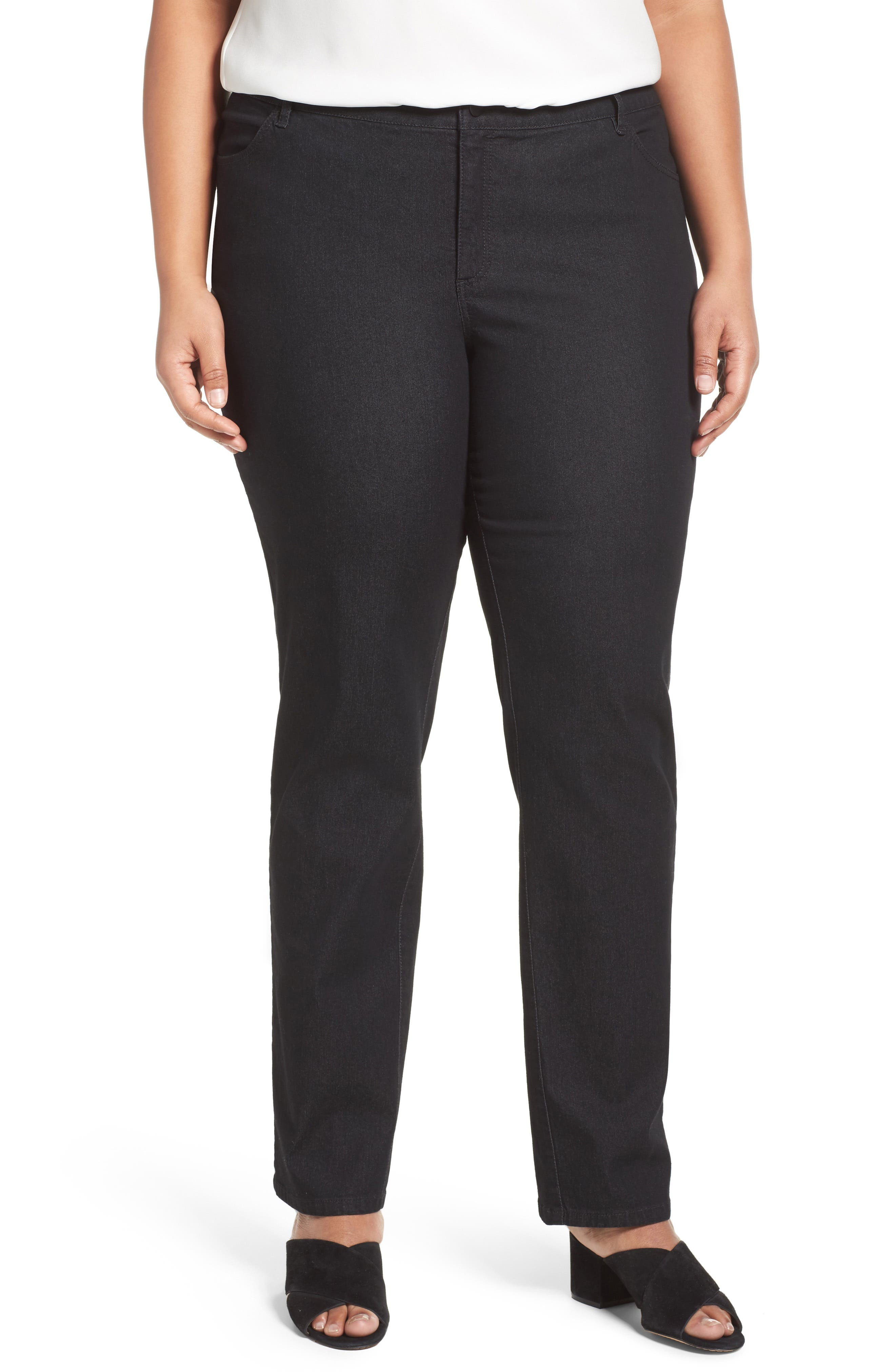 Thompson Stretch Bootcut Jeans,                         Main,                         color, 001