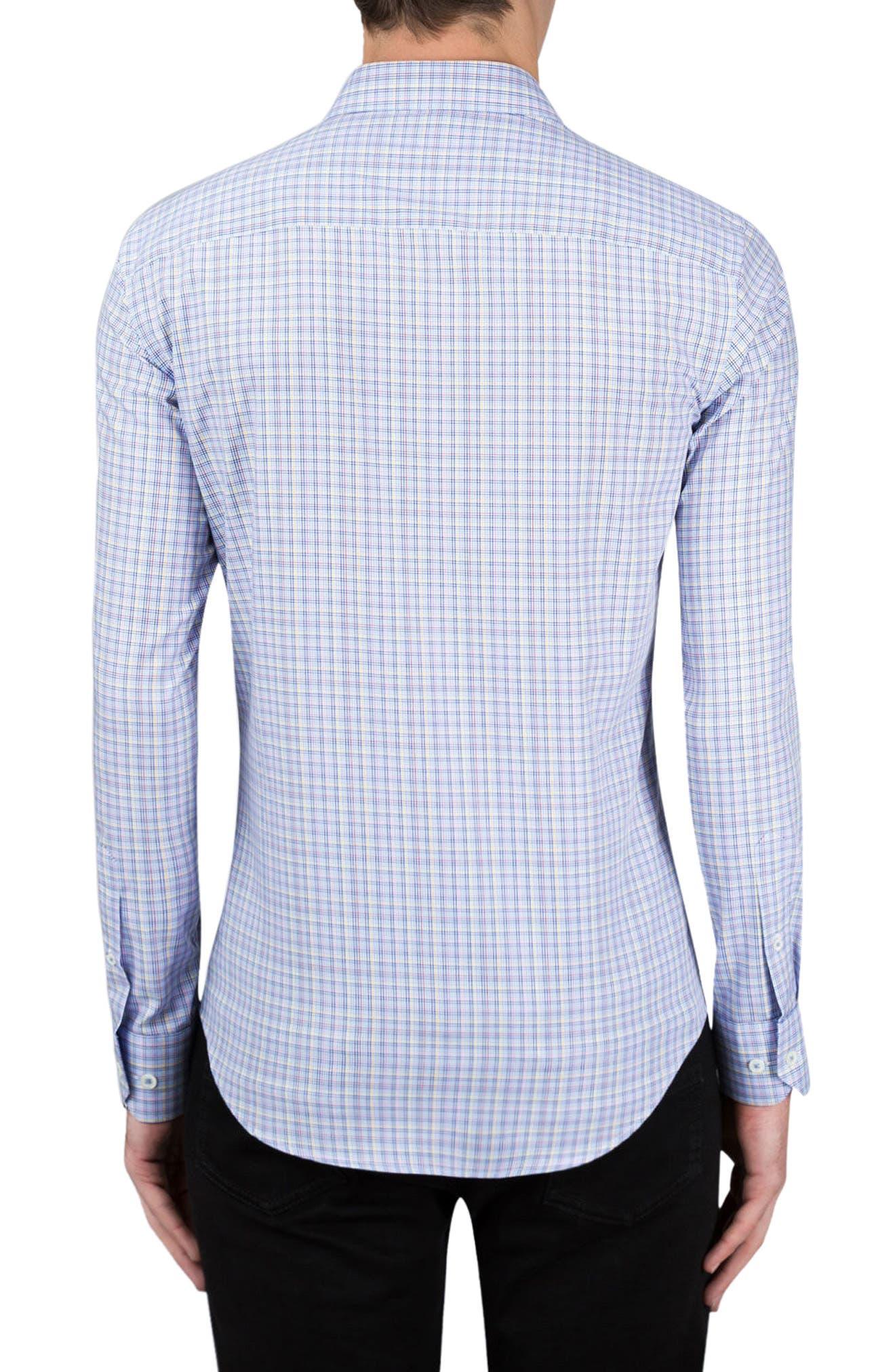 Classic Fit Check Sport Shirt,                             Alternate thumbnail 2, color,                             459